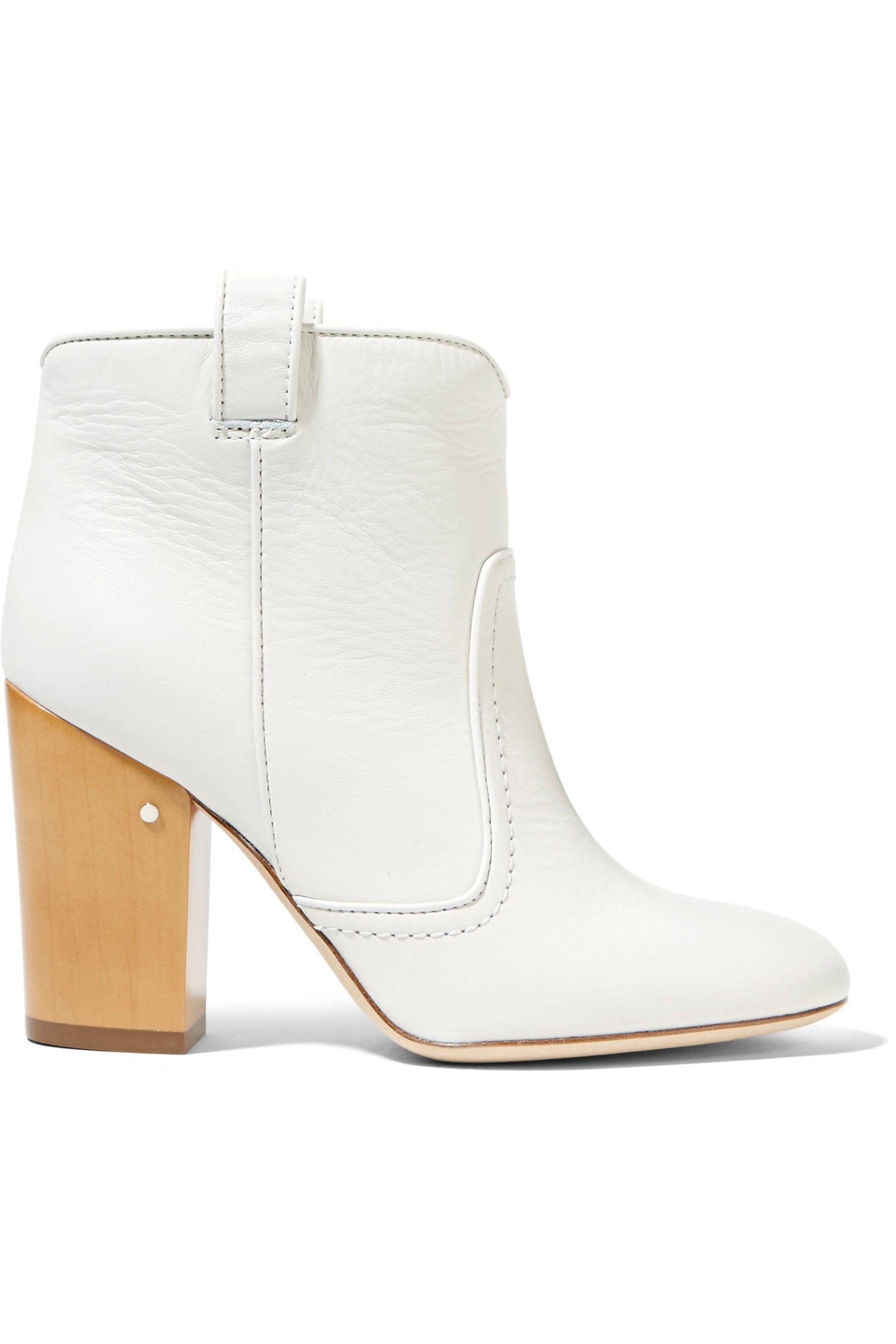 cut-out detail boots - White Laurence Dacade New Arrival Sale Online f08wjT9