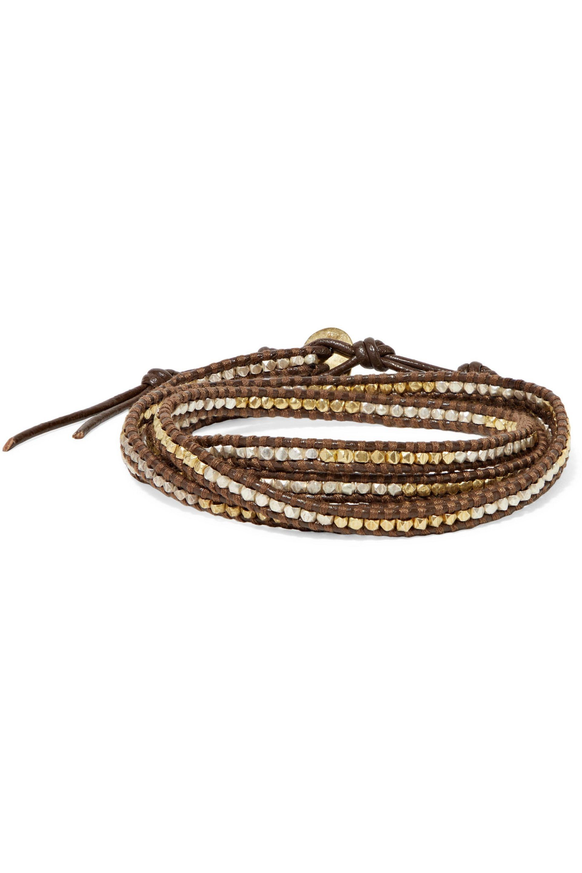 lyst jewelry gallery black color corded goldtone pave product heart no couture bracelet juicy in