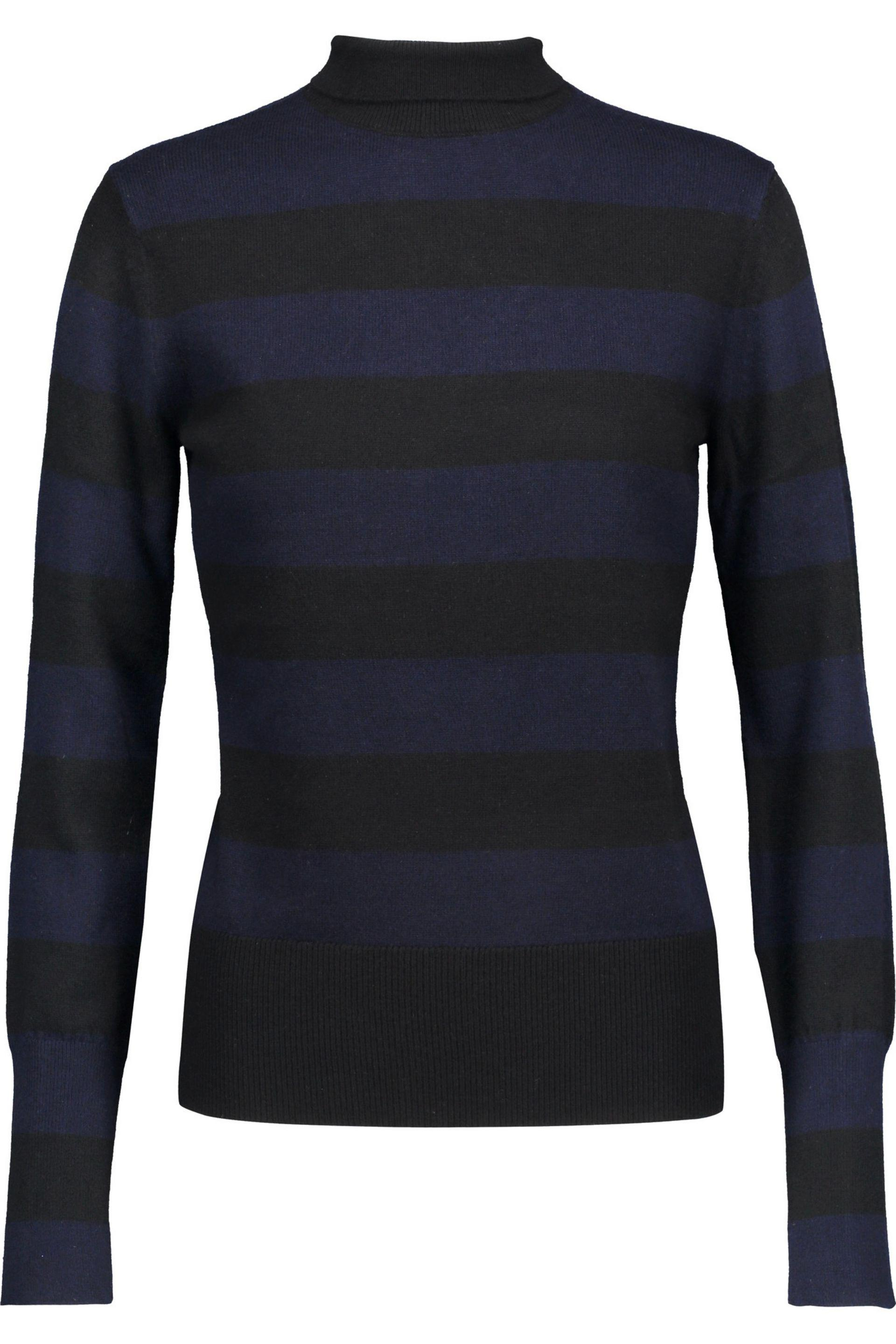 e7a6141b77c Rag   Bone Careen Striped Wool And Cashmere-blend Turtleneck Sweater ...
