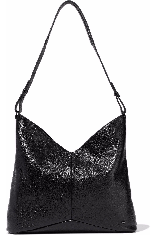 ee6676369e Halston heritage textured leather shoulder bag in black lyst jpg 1920x2880 Halston  heritage handbags
