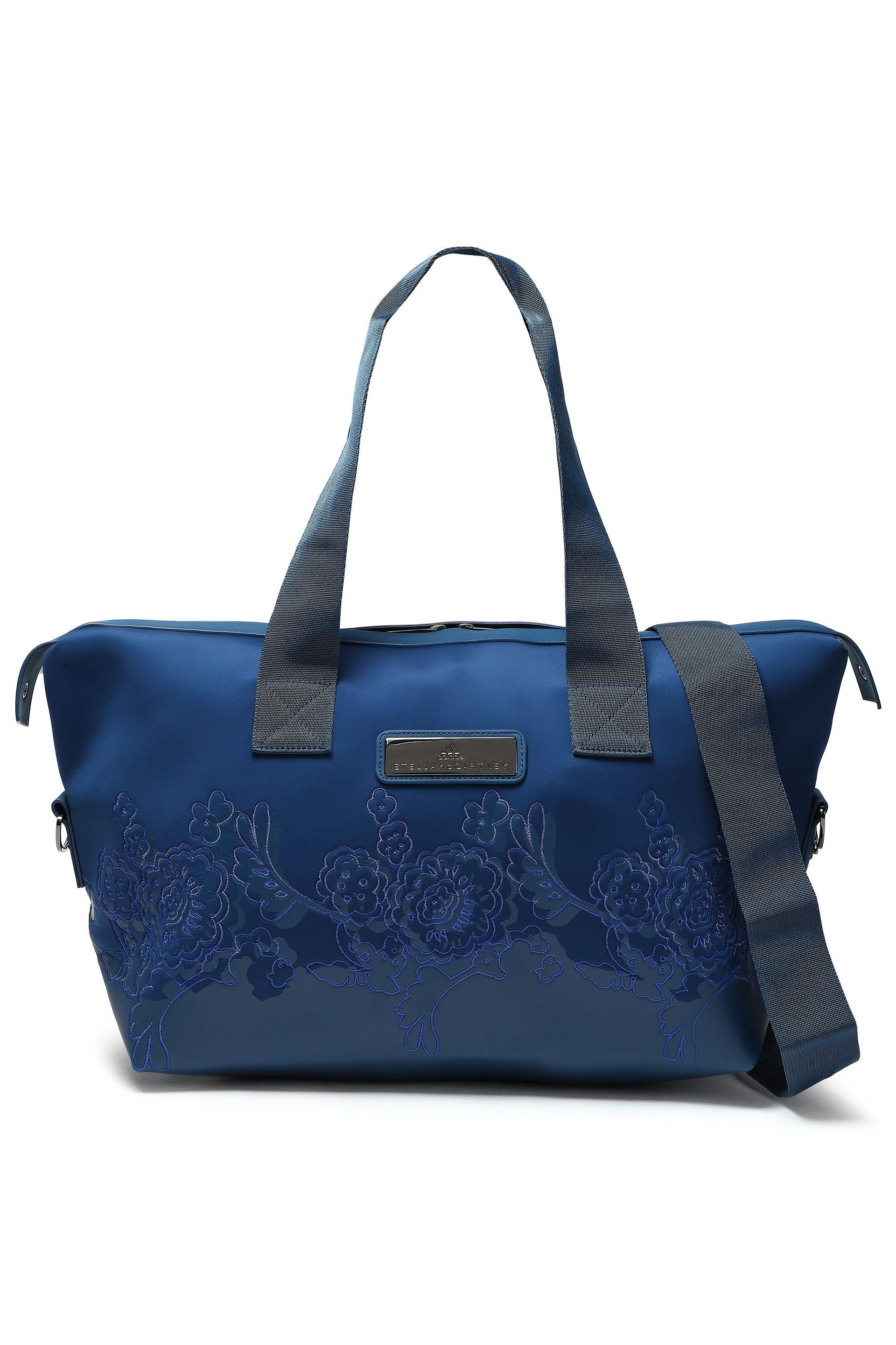 2f7343d18 adidas By Stella McCartney Woman Embellished Scuba Weekend Bag ...