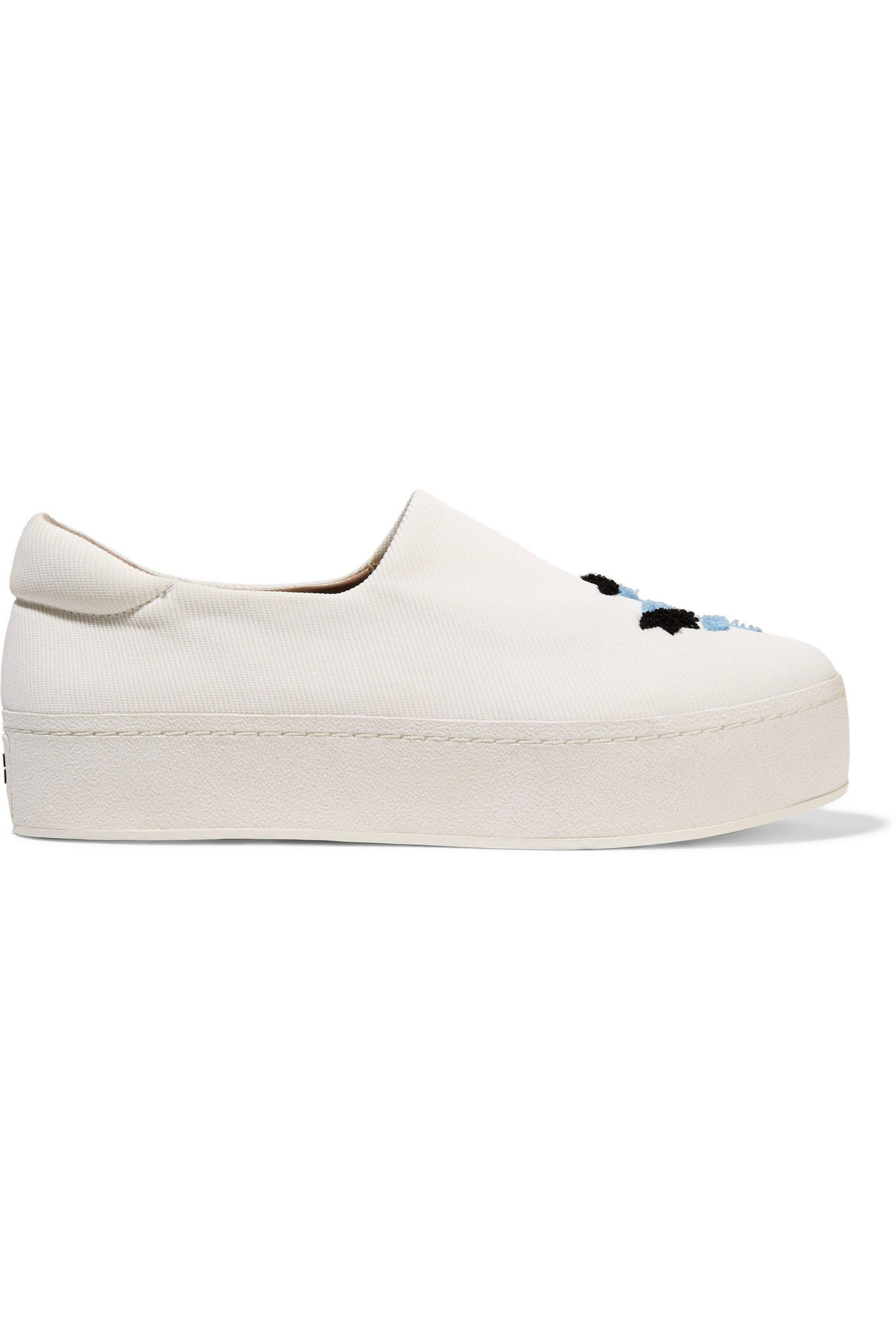 Embroidered slip-on shoes Opening Ceremony hT1c7