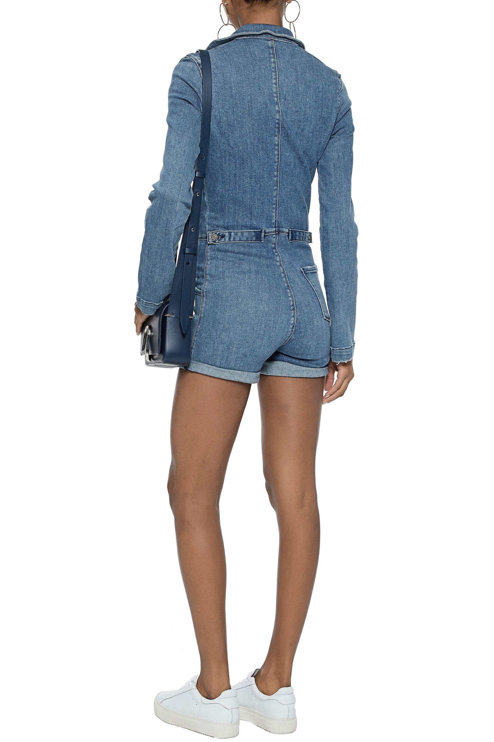 62a21e44ef1 Gallery. Previously sold at  THE OUTNET.COM · Women s Denim Jumpsuits ...