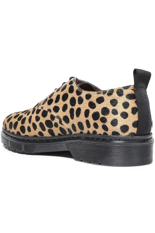 JOSEPH Leather Leopard-print Calf Hair