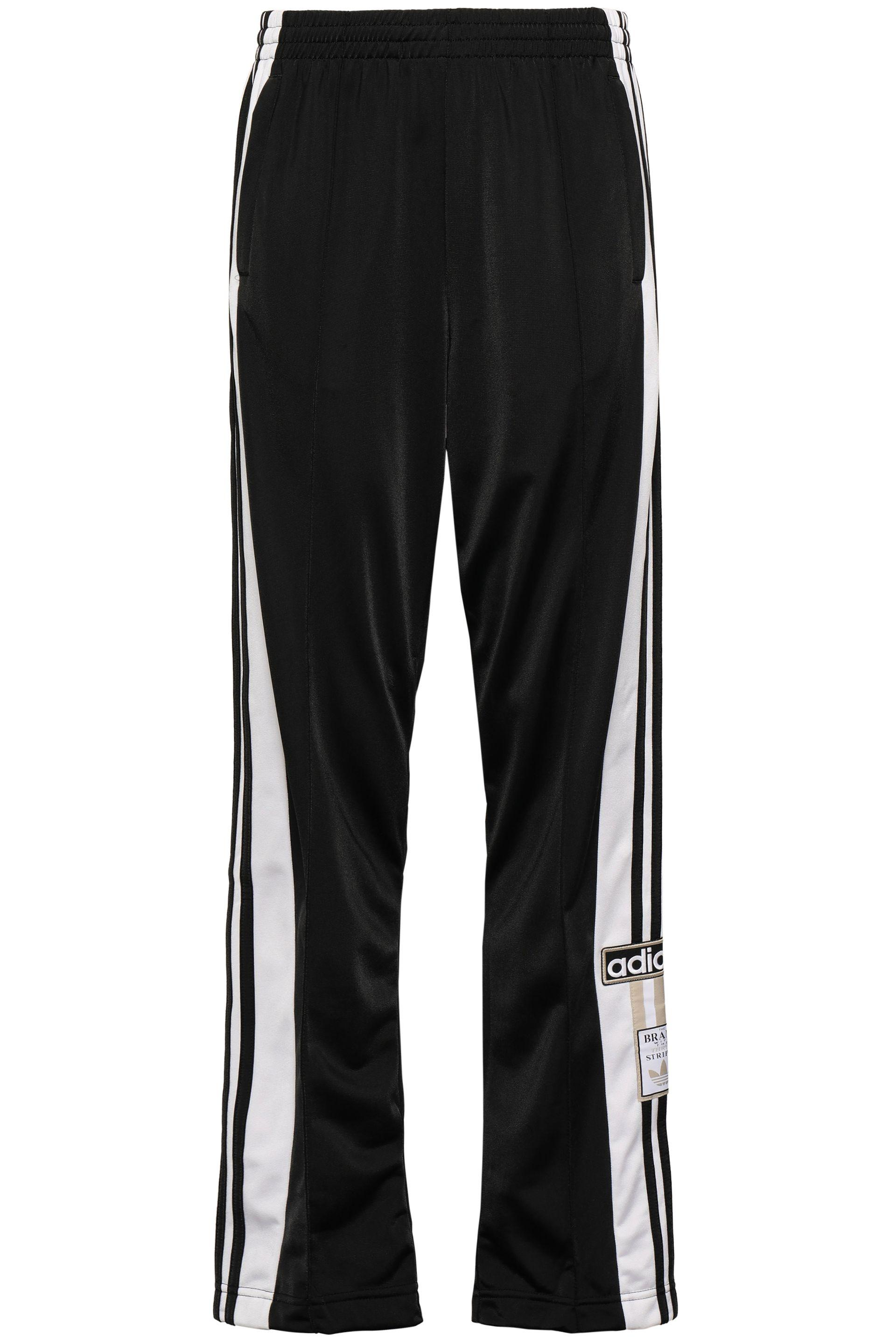 unique design classic styles release info on Striped Tech-jersey Track Pants Black