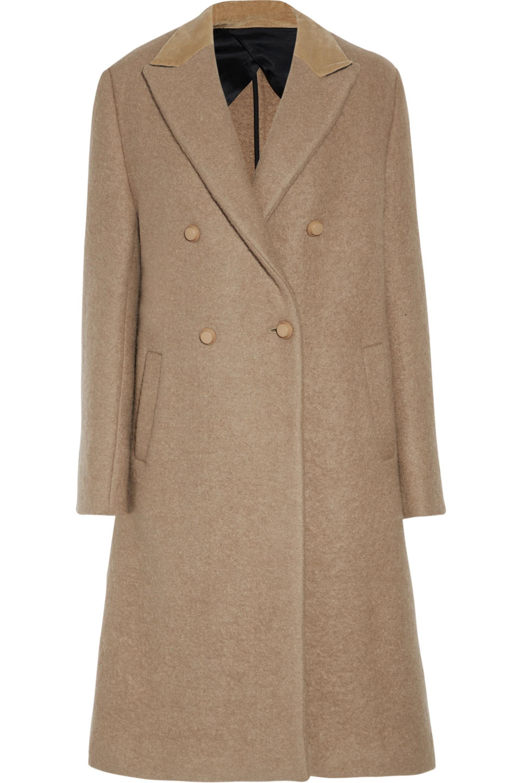 JOSEPH. Women's Natural Osborne Felt Coat