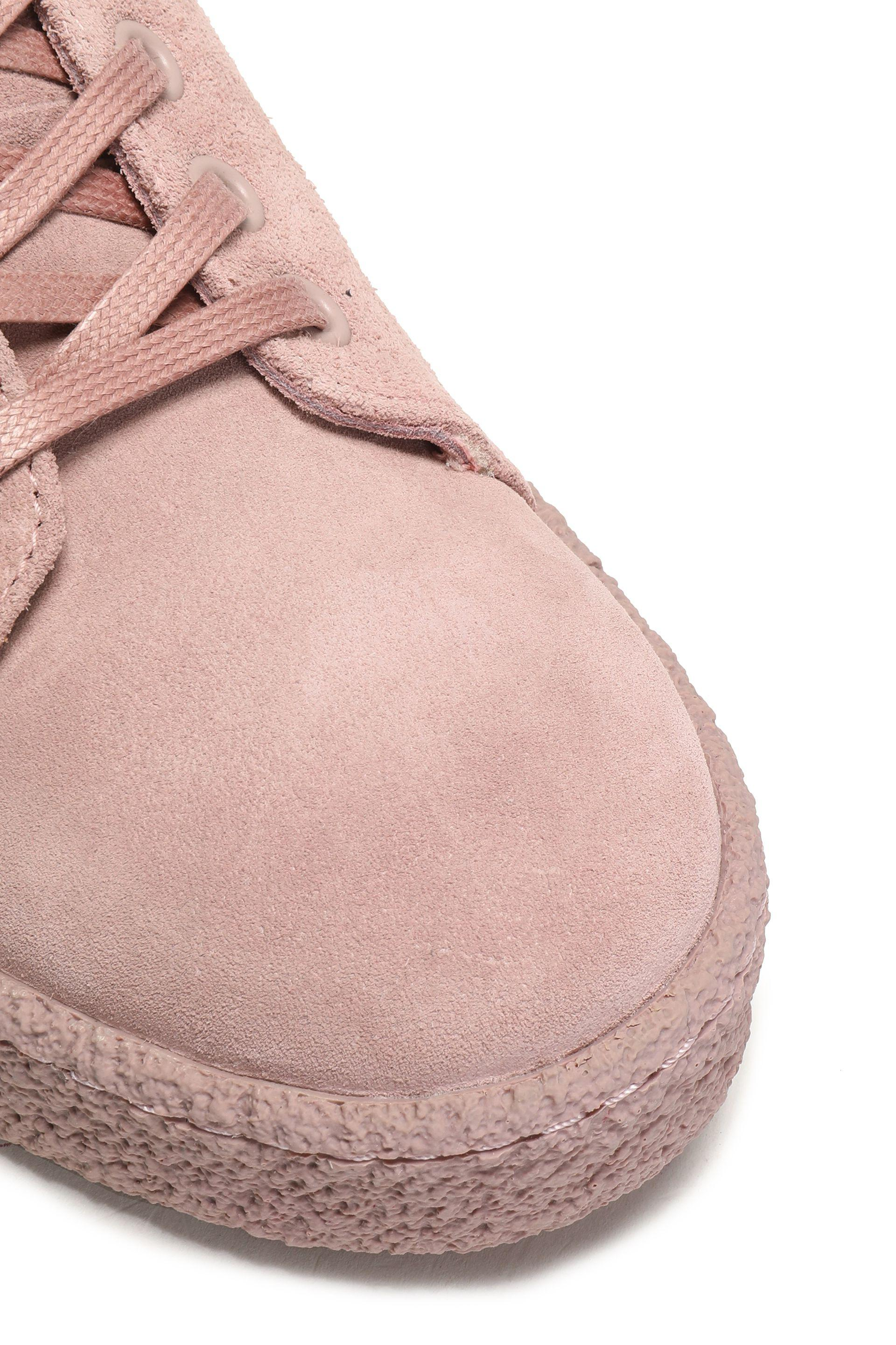 Eytys Suede Sneakers in Antique Rose (Pink)