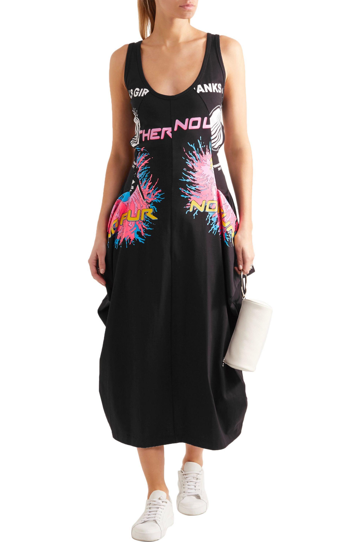 printed jersey dress - Black Stella McCartney gy4ZKE9piF