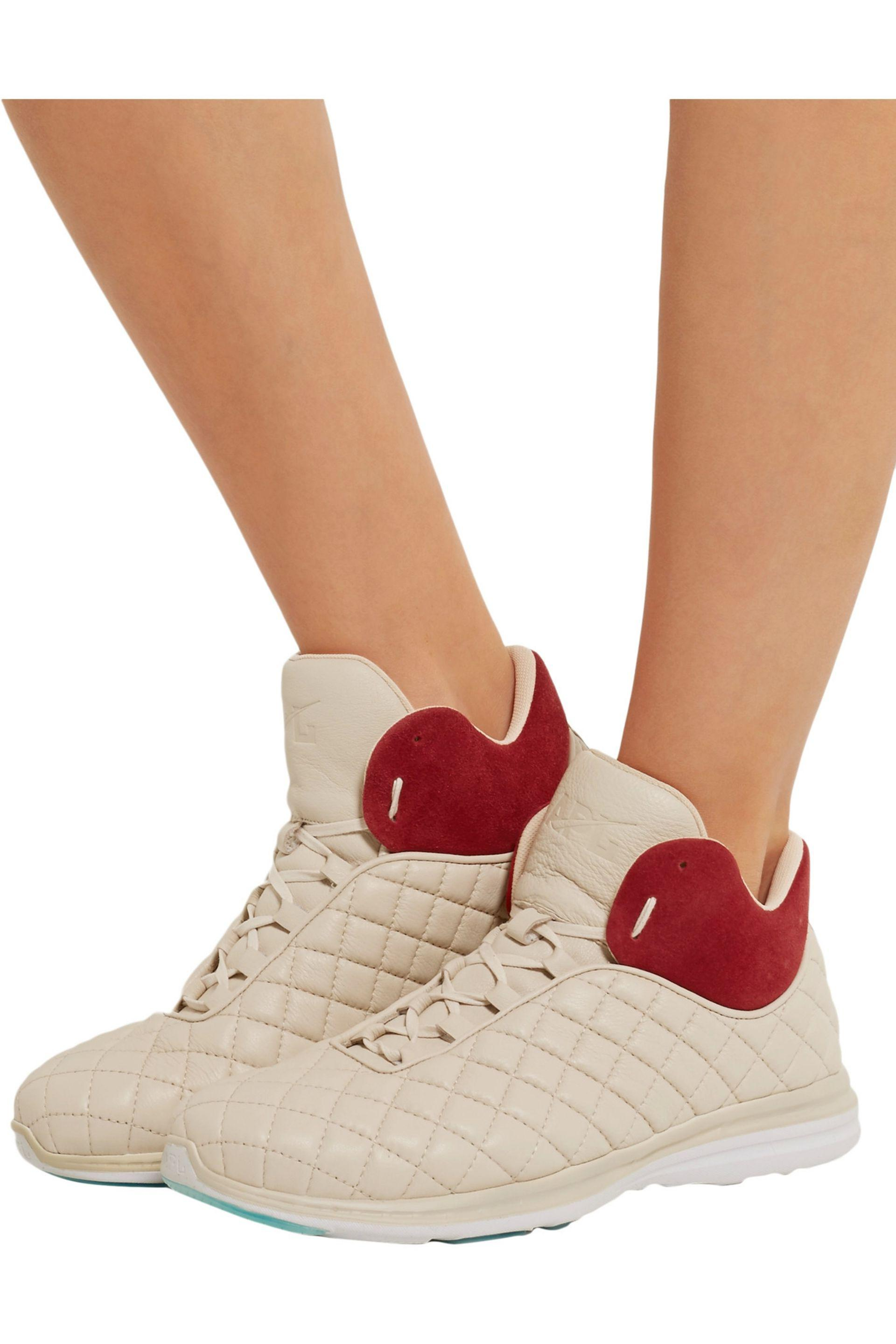 APL Shoes Lusso Quilted Leather High