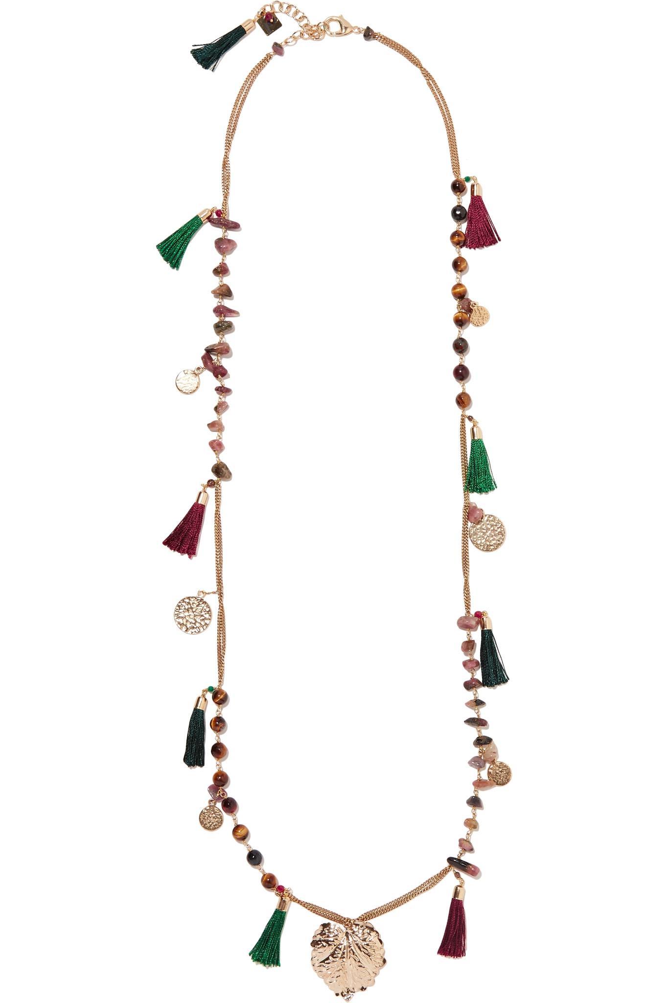 Rosantica Woman Gold-tone Chain Tassel Necklace Gold Size Rosantica 4jUE0anKSs