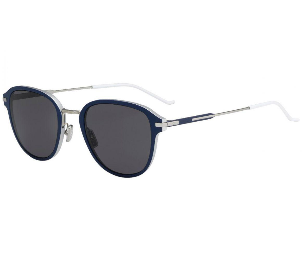 d01706169b Dior Homme Navy And White Frames With Polarized Black Lenses ...