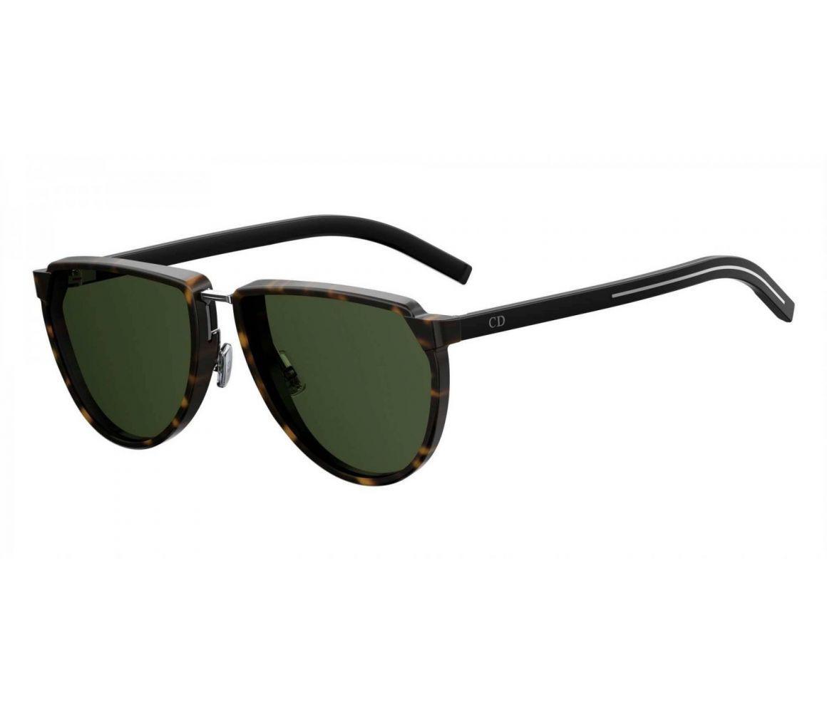 af60f363af Lyst - Dior Homme Brown Tortoiseshell Round Frames With Black Lenses ...