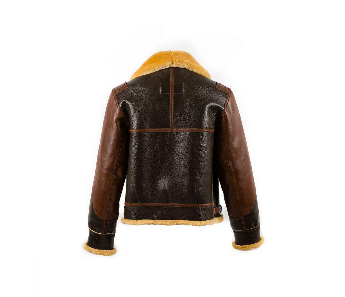 b69fab778e2 Chapal - Dark And Light Brown B3 Shearling Jacket for Men - Lyst. View  fullscreen