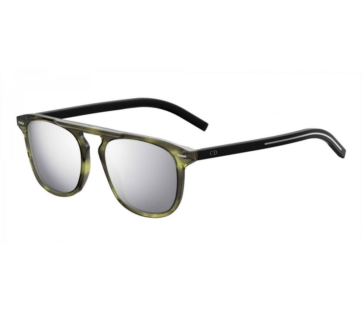 d8a355acdc4a Dior Homme. Men s Black And Green Keyhole Bridge Frames With Clear Lenses  Eyewear ...
