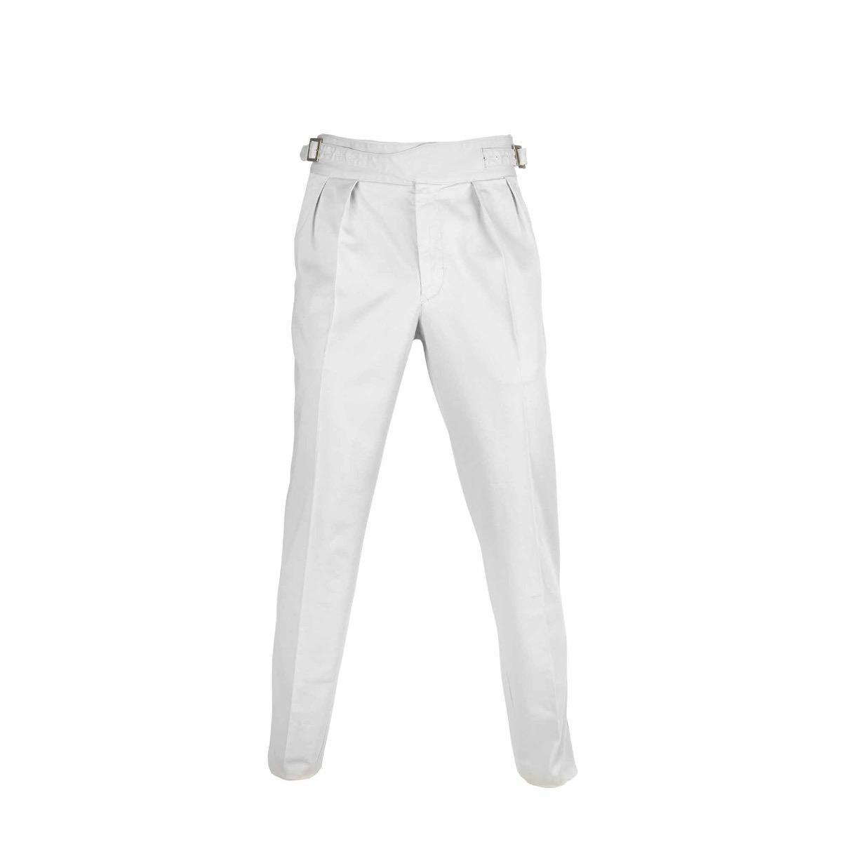 Black Manny Pleated Cotton Trousers Rubinacci MrGrXNR