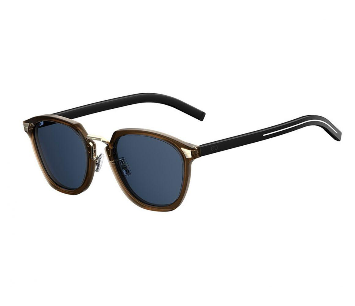 4d98e82a89fe Dior Homme Brown Frames With Black Lenses 09q ku in Brown for Men - Lyst