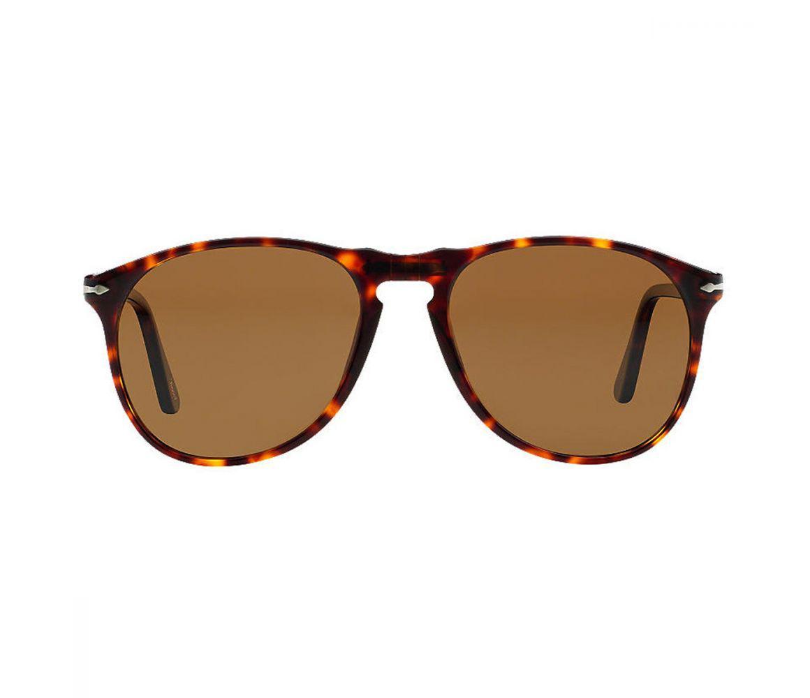 651c4d9f08 Persol. Men s Icons Po9649s 24 57 Polarized Havana With Brown Lenses  Sunglasses