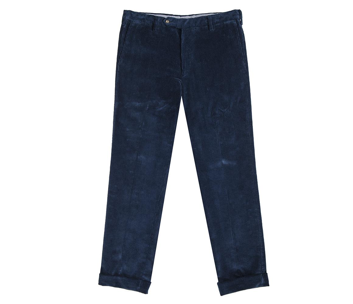 Blue Corduroy Trousers Drake's Free Shipping Official Site ely1cuO