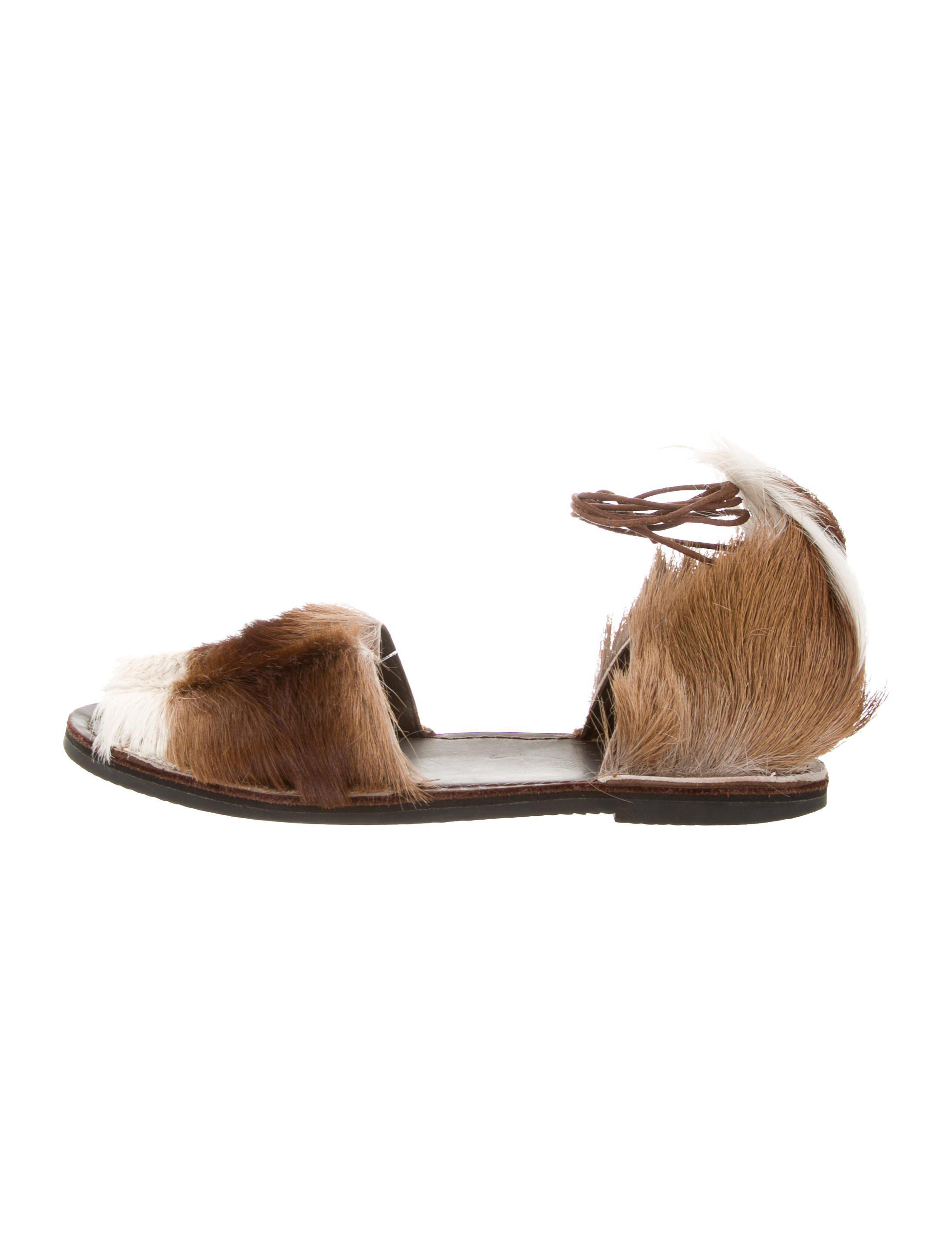 discount collections cheap sale 100% authentic Brother Vellies Multicolor Wrap-Around Sandals outlet store cheap price cheap release dates cTd1PT36k