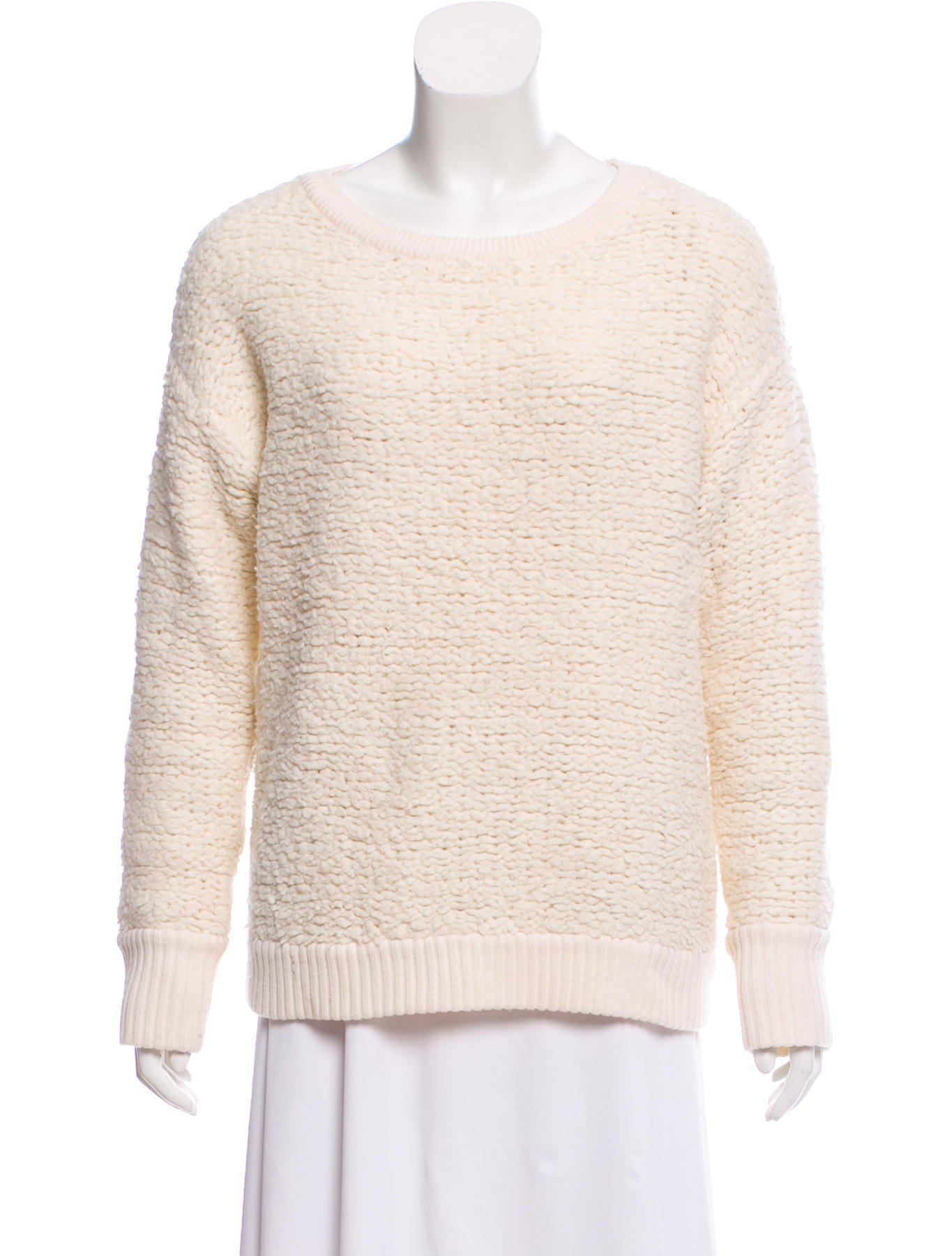 1c2d42be7c4 Lyst - Rag   Bone Wool Long Sleeve Sweater Wool in Brown