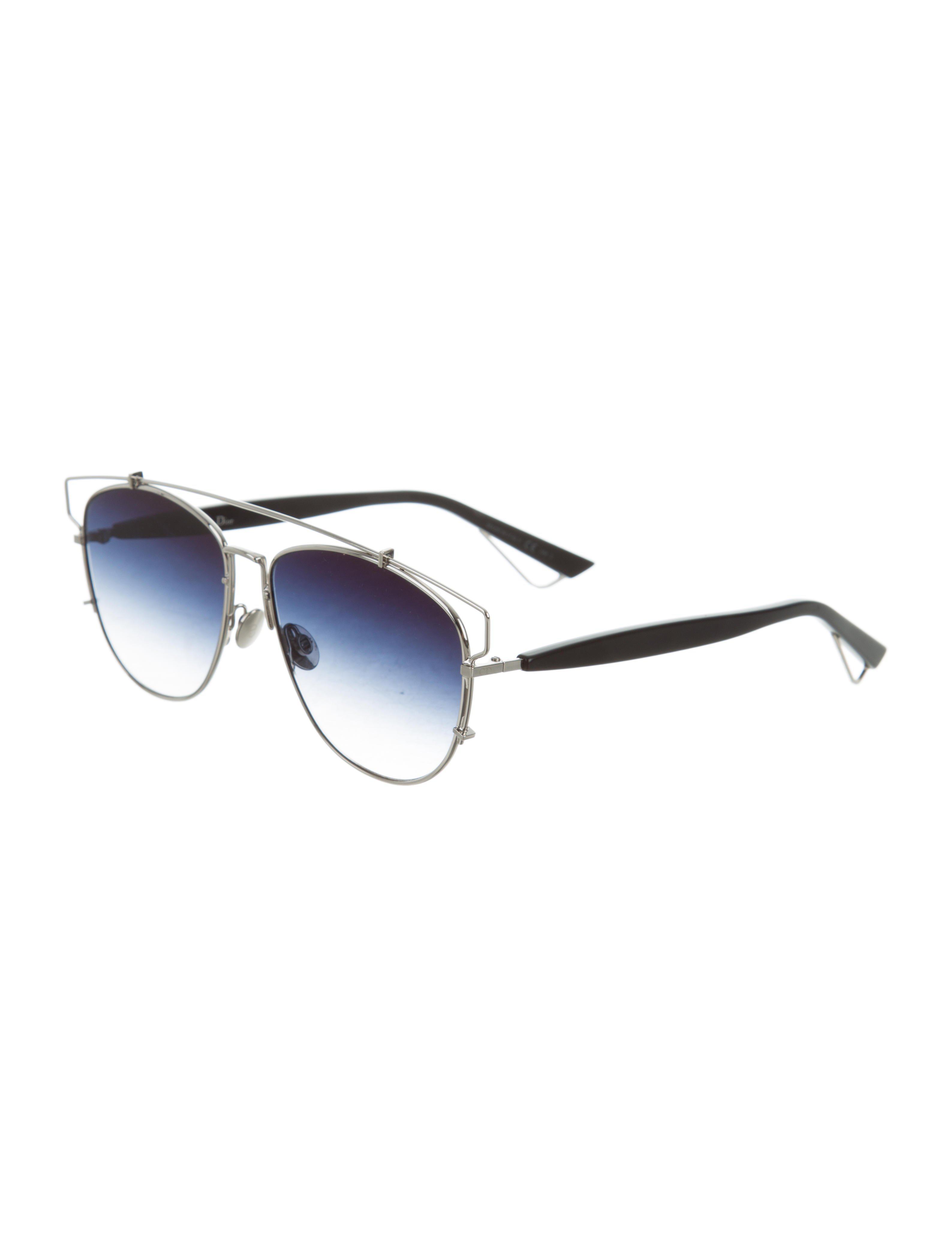 2d6770464d2 Lyst - Dior Technologic Gradient Sunglasses Silver in Metallic