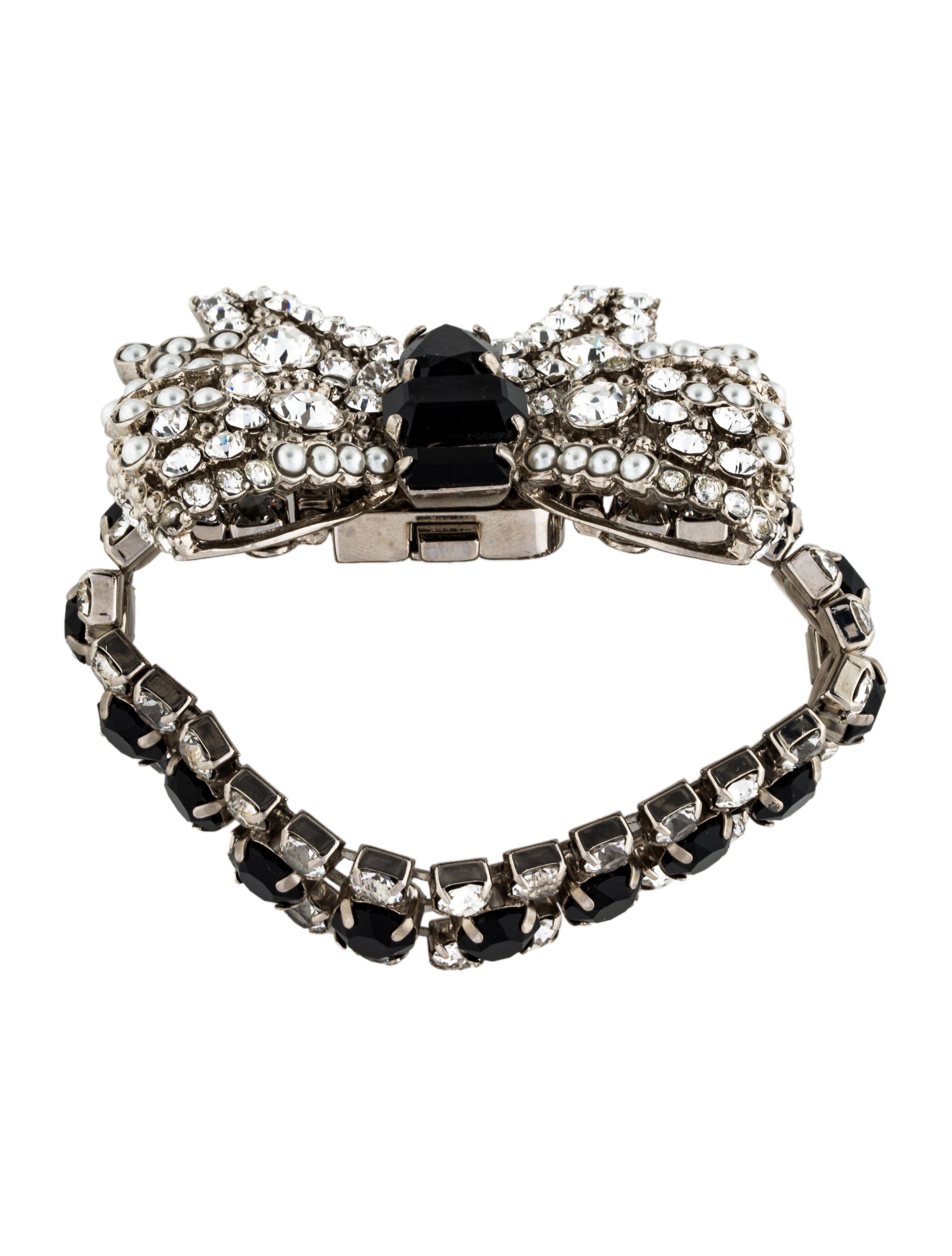 coloured beads bracelet - Metallic Miu Miu 15cFA