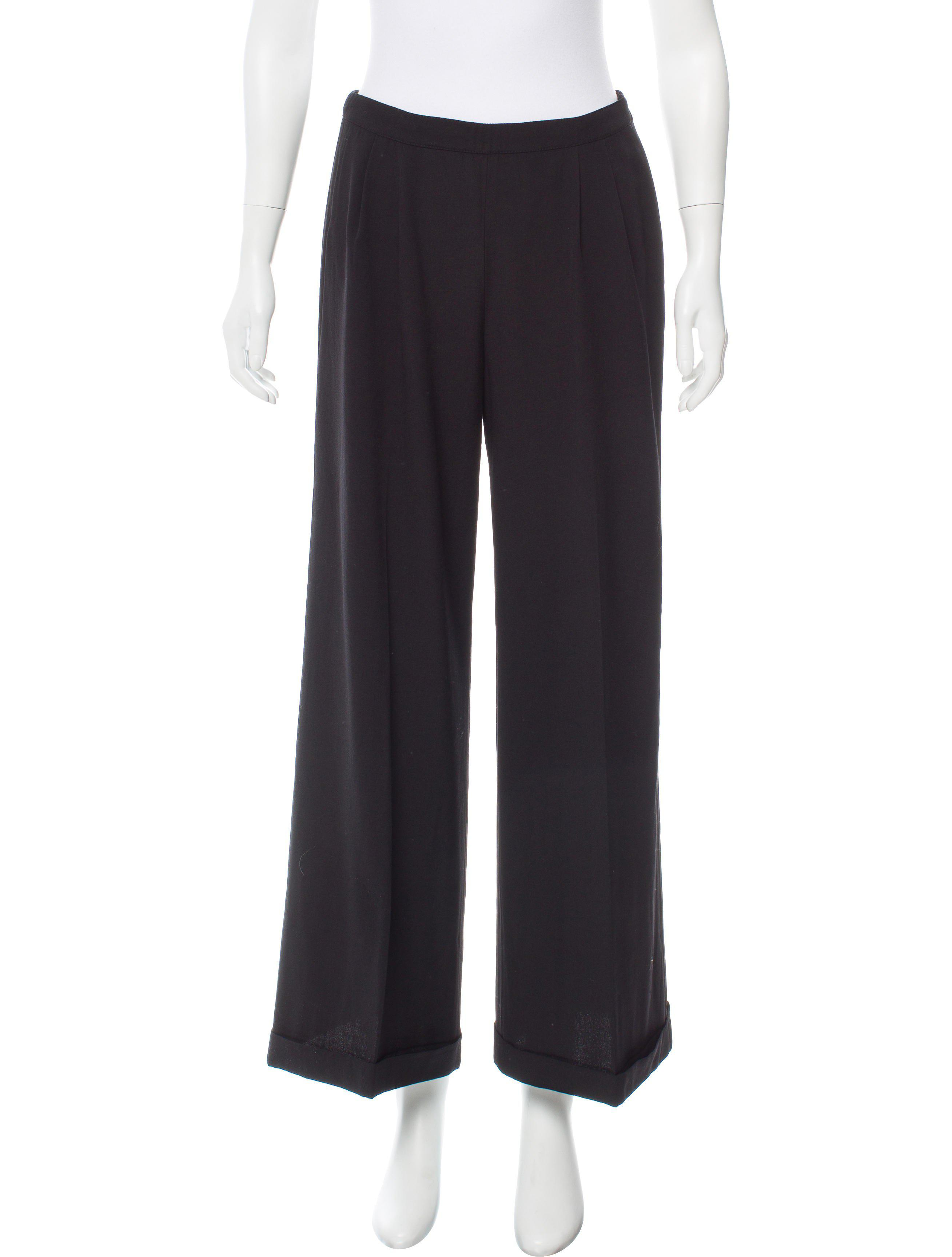 mid rise wool trousers Dries Van Noten GzZnYe