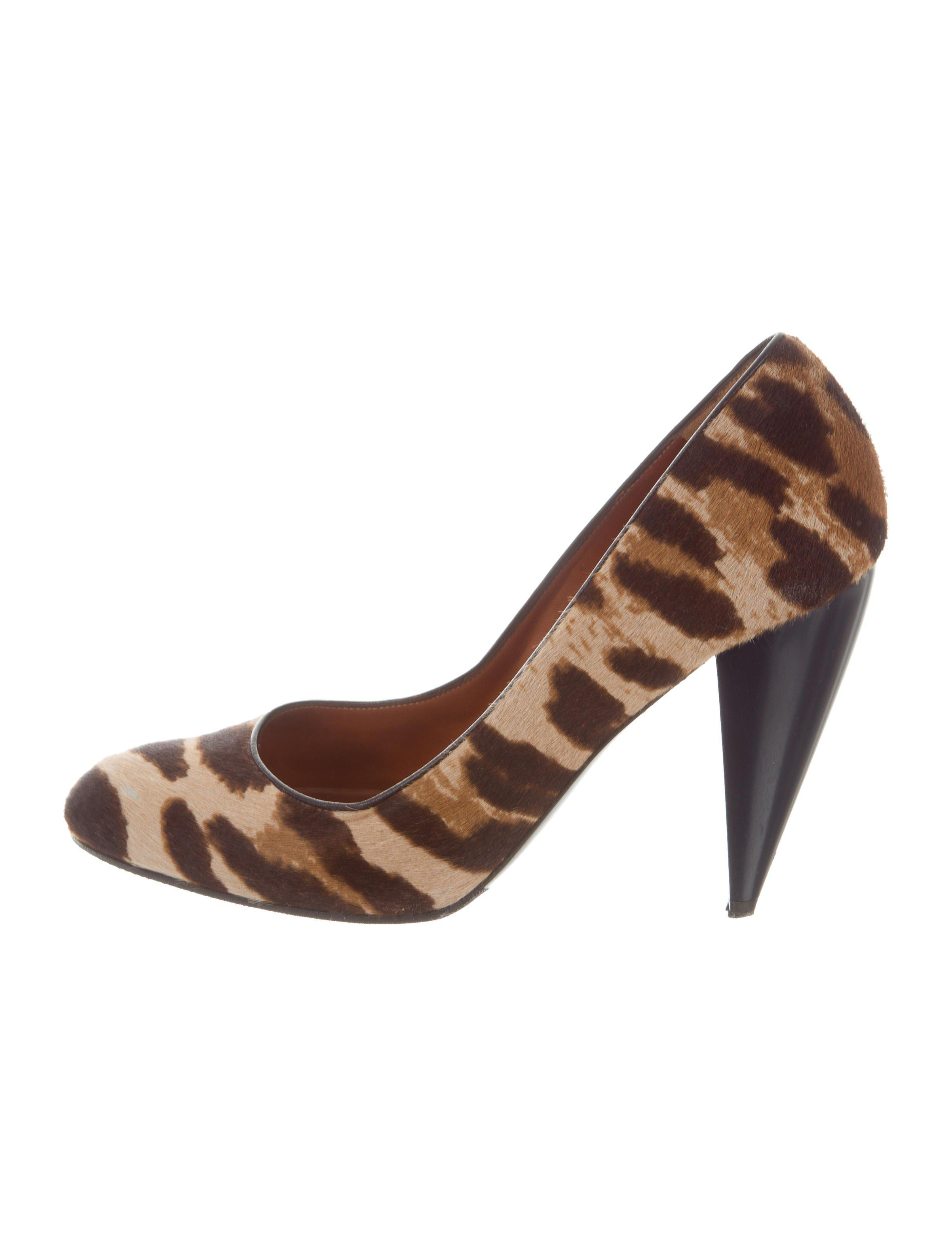 Lanvin Ponyhair Animal Print Pumps cheap under $60 discount big discount with credit card online avCi2tpfA