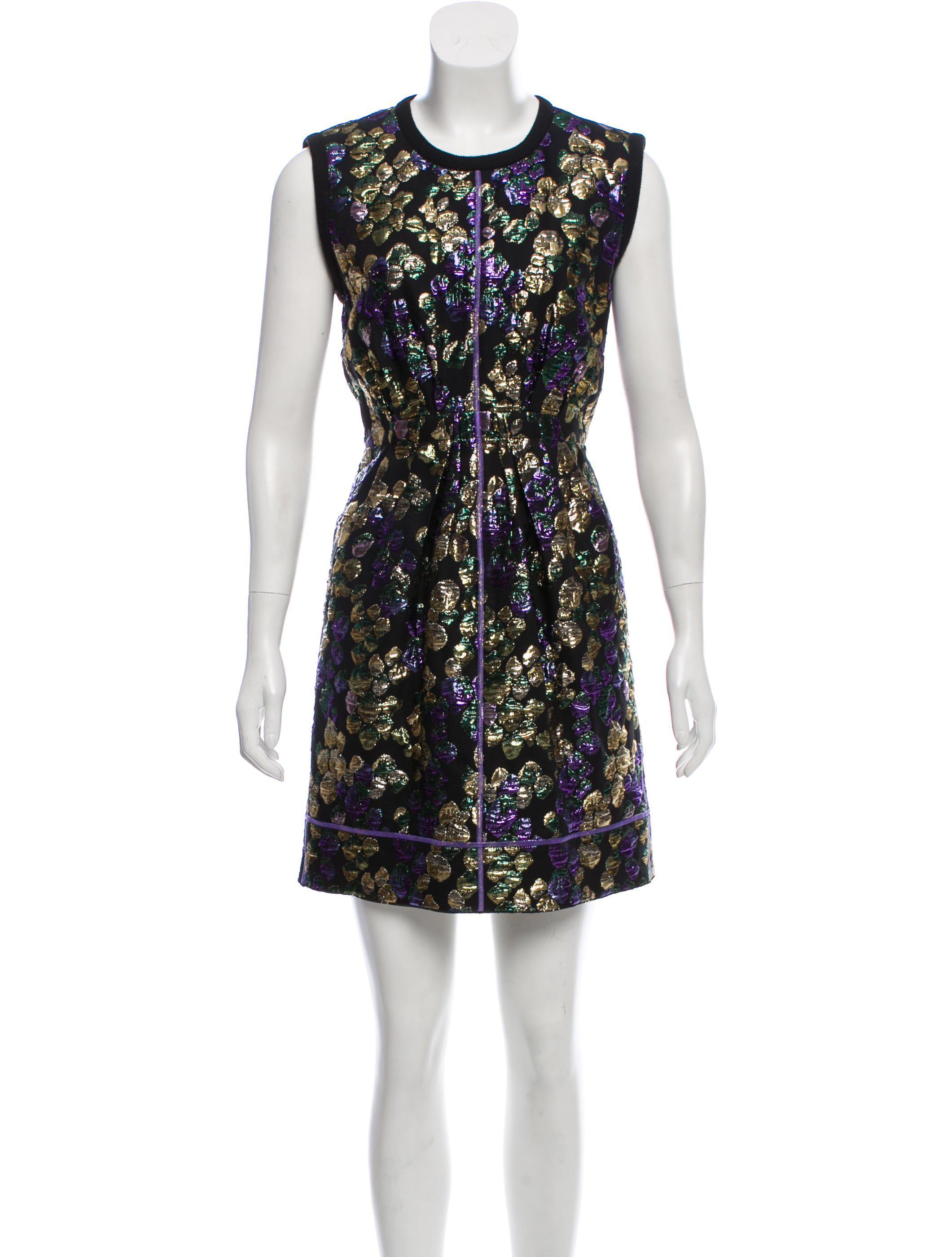 brocade dress - Black Marc Jacobs Aaa Quality b55nIgzy