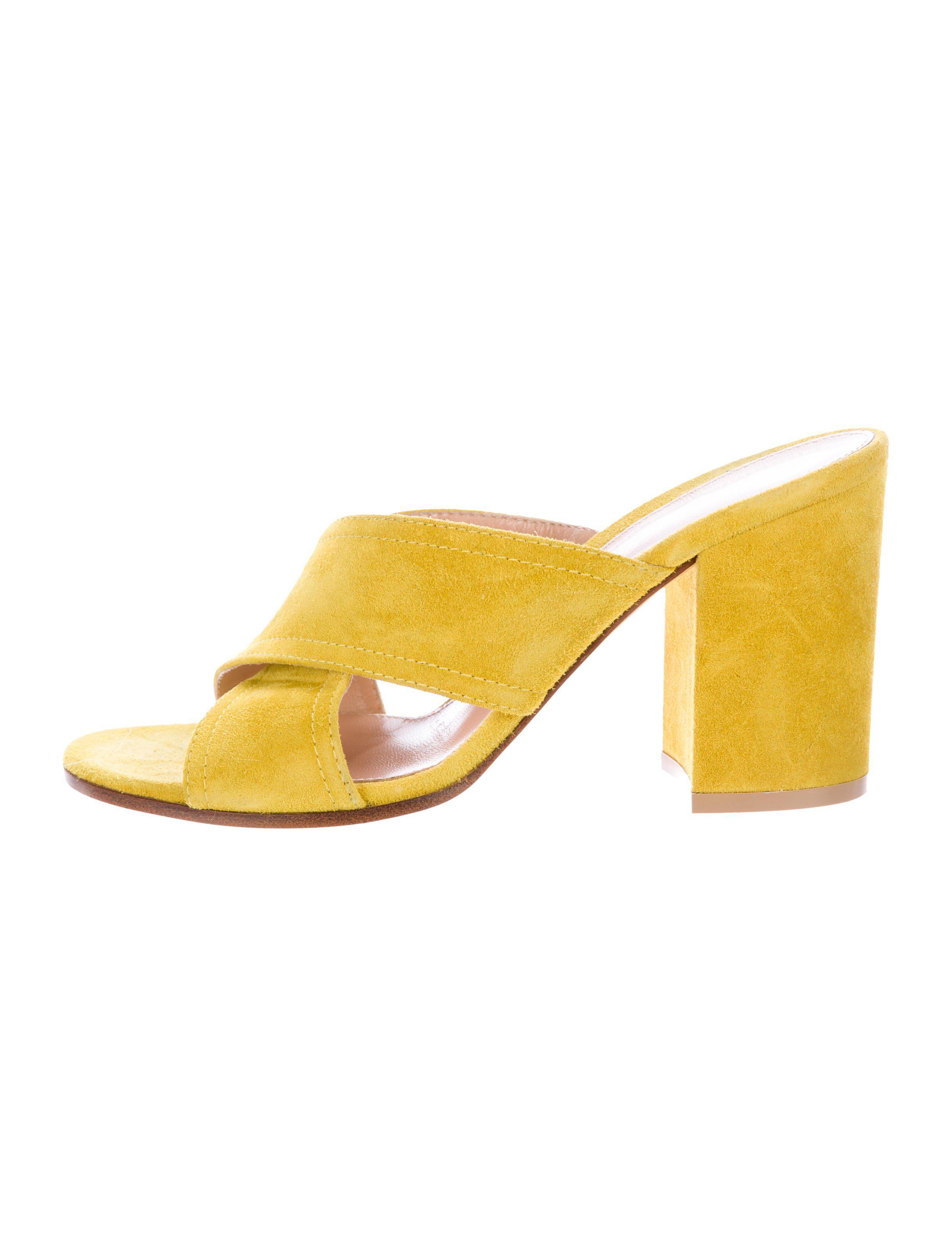 low price online fashionable cheap online Gianvito Rossi Crossover Slide Sandals cheap real finishline clearance outlet OBN4QU