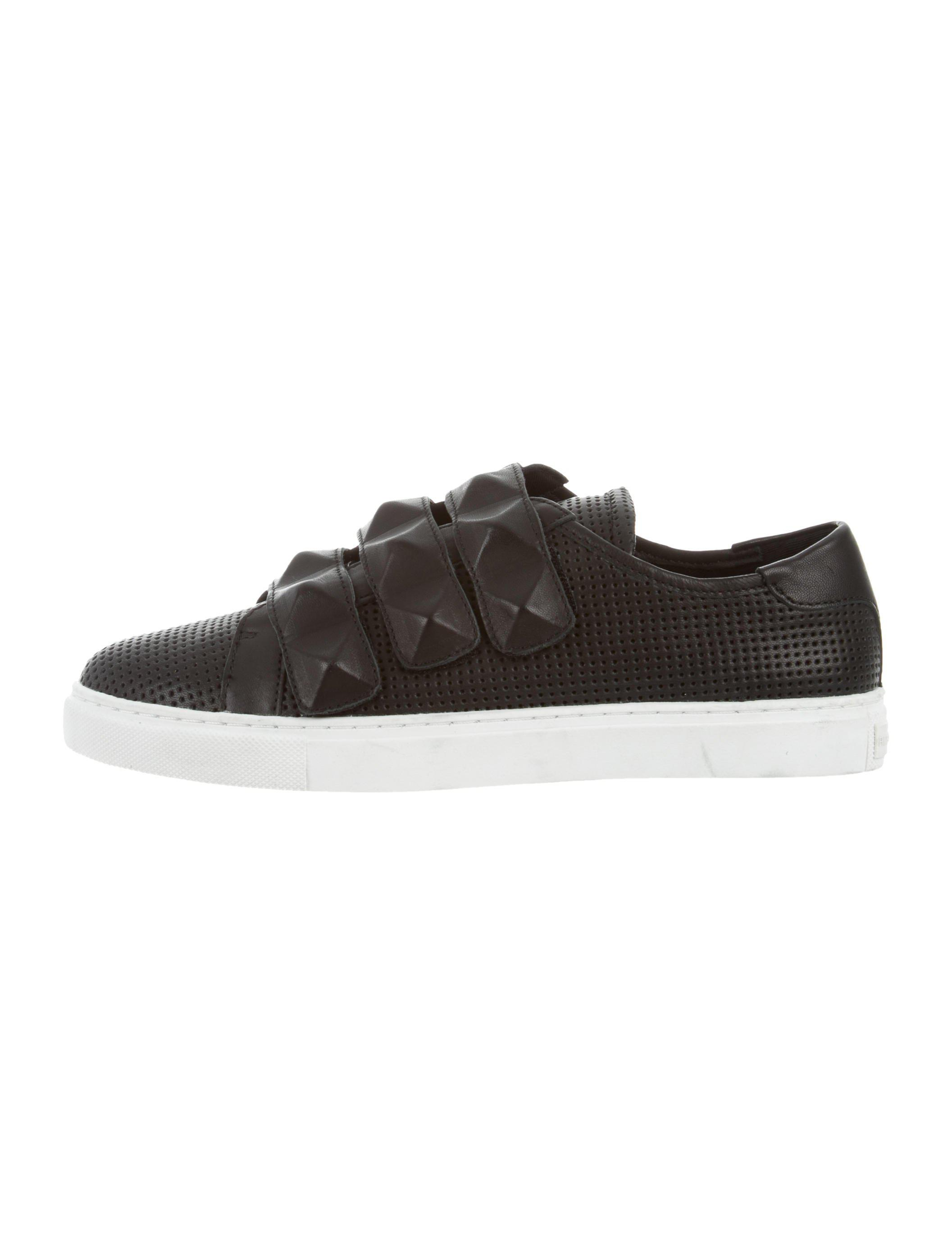 Rebecca Minkoff Low-Top Perforated Sneakers clearance clearance store cheap sale best OGxaID
