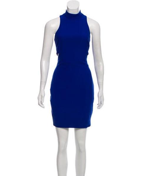 87354c7edb61c Lyst - Elizabeth And James Shalene Cutout Dress W/ Tags in Blue