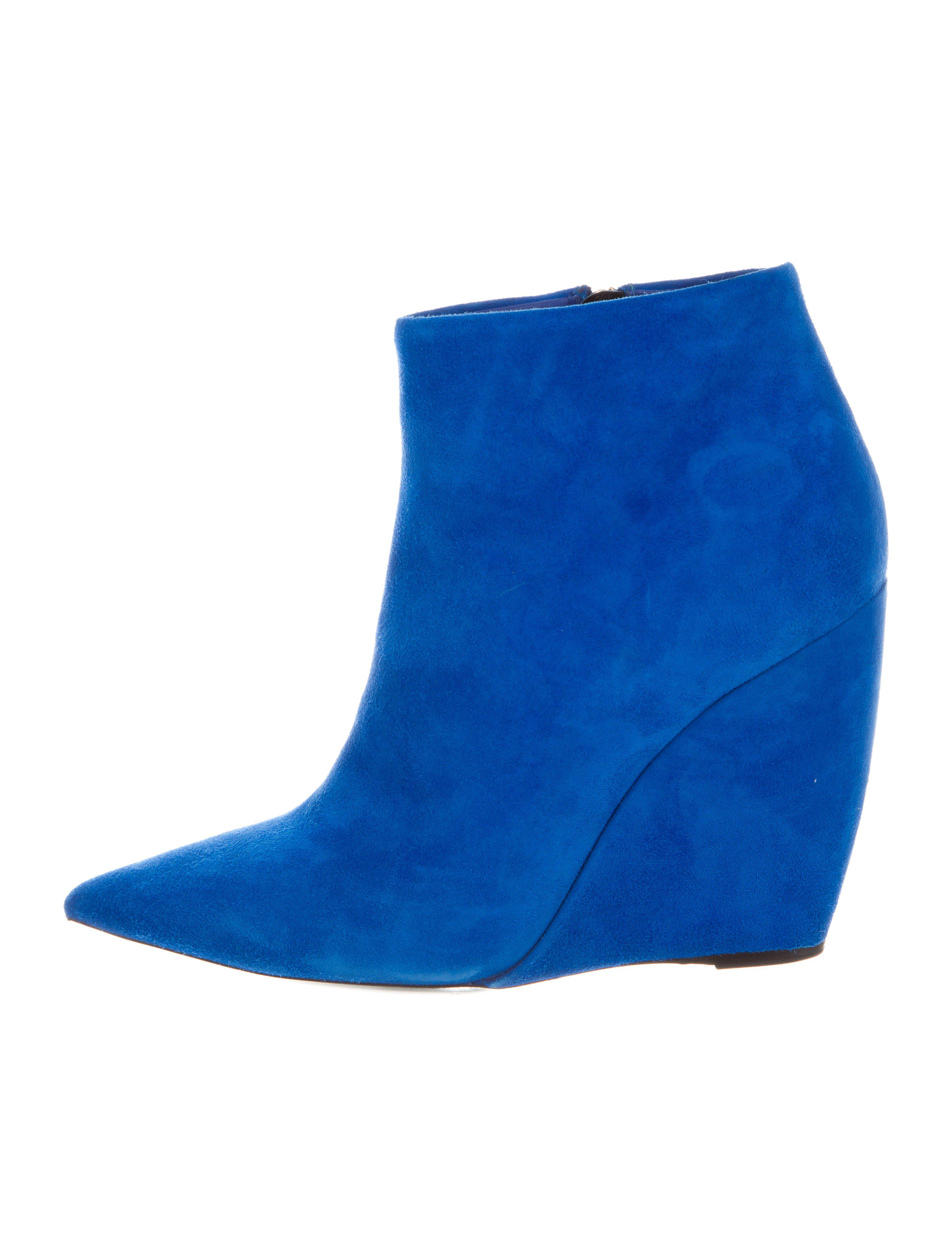 Nicholas Kirkwood Suede Lizy 105 Booties cheap real finishline NDZOex2XC