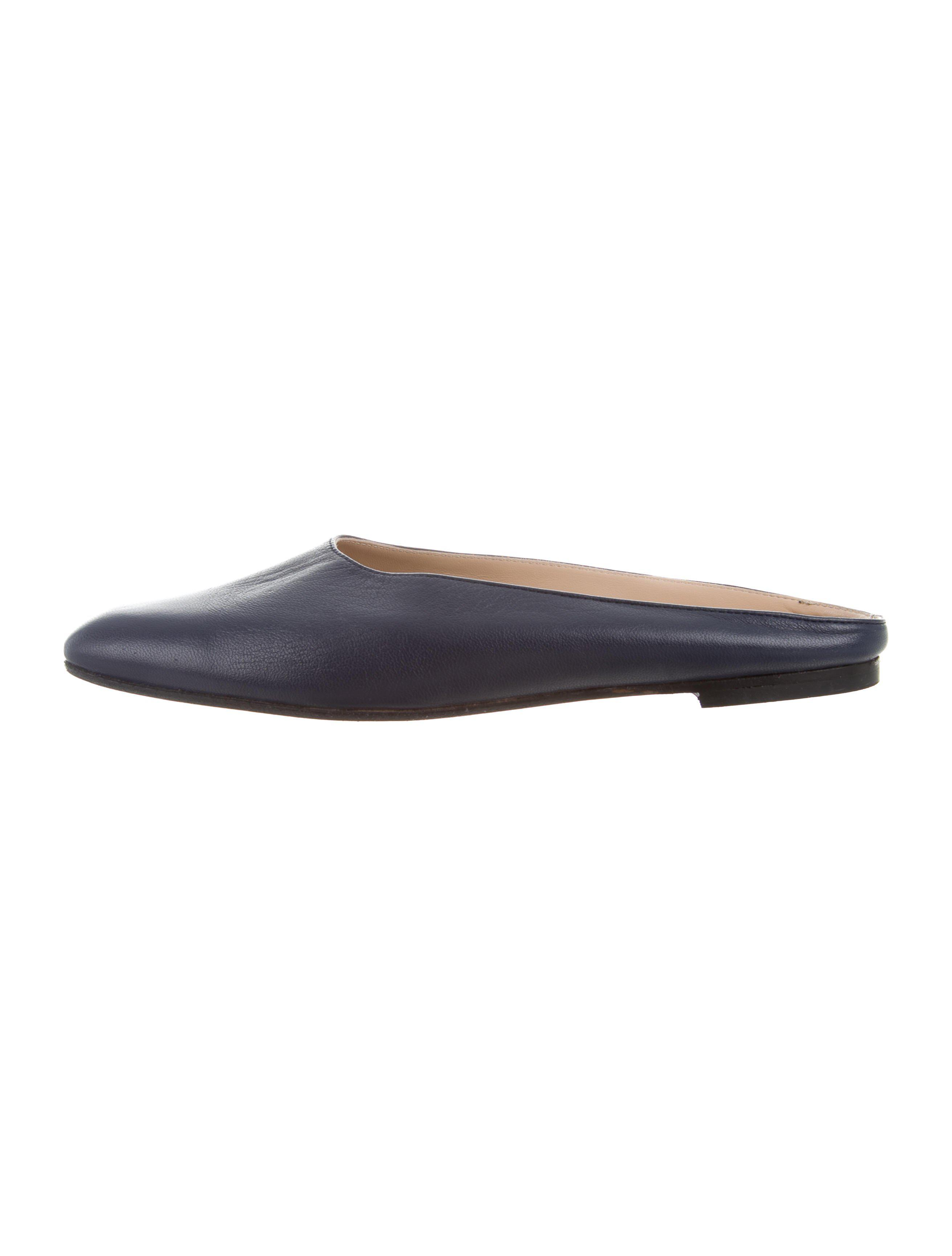 Maryam Nassir Zadeh Leather Square-Toe Mules cheap pay with visa sale online shopping largest supplier sale online sale geniue stockist Y0g8RCD