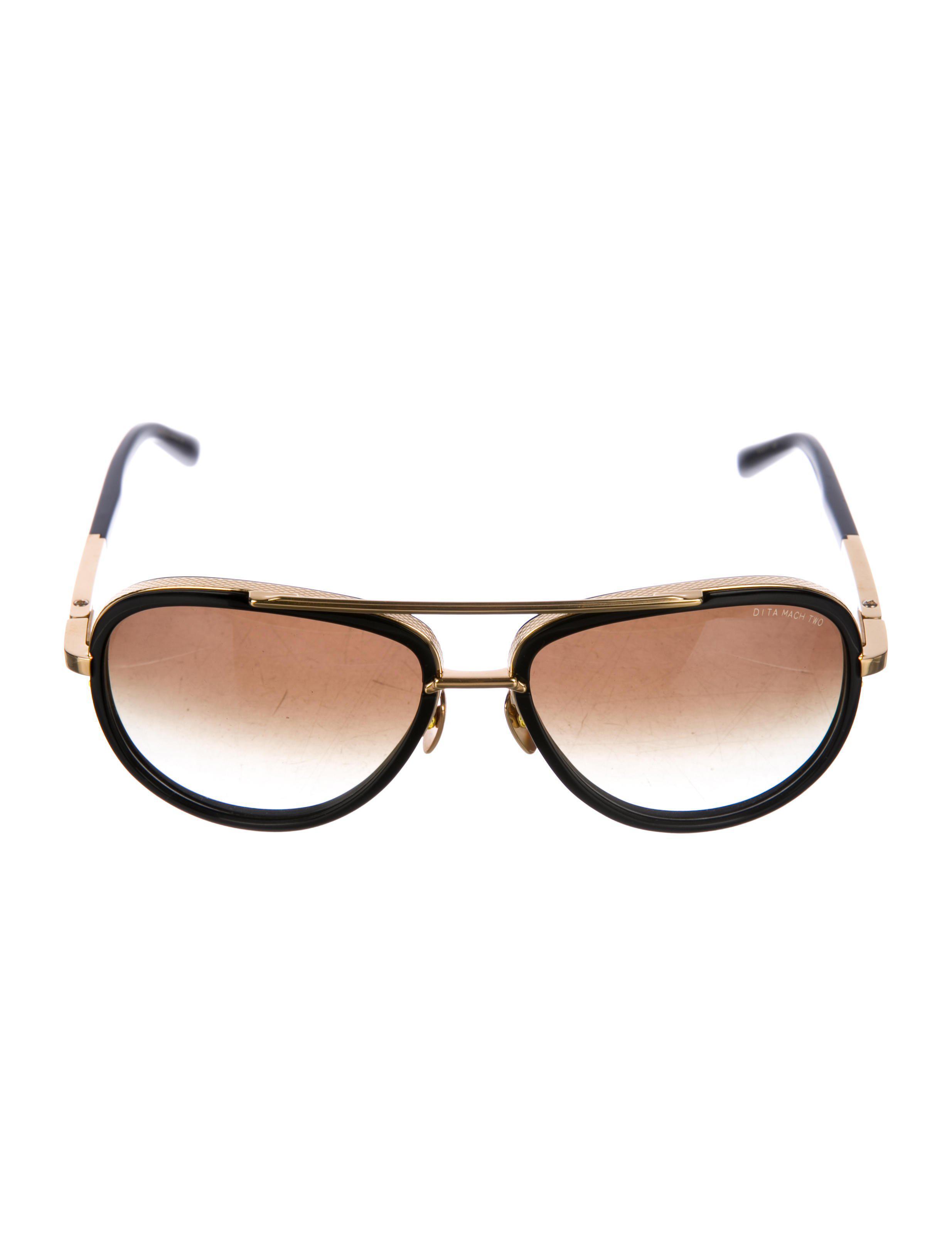 773adbe5eec7 Lyst - Dita 2018 Mach Two Sunglasses Black in Metallic