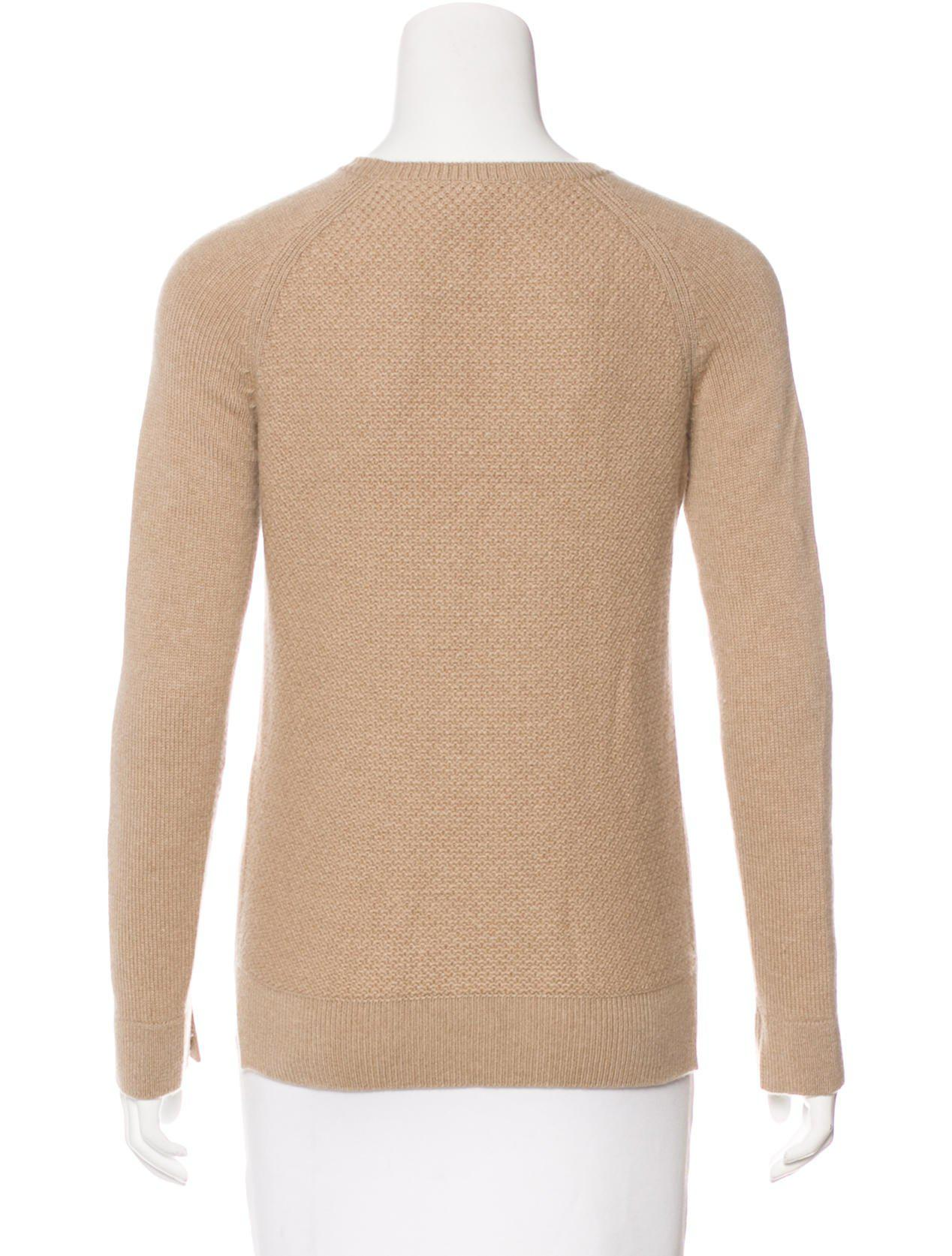 0fdb895afe64 Lyst - Loro Piana Baby Cashmere Crew Neck Sweater Neutrals in Natural