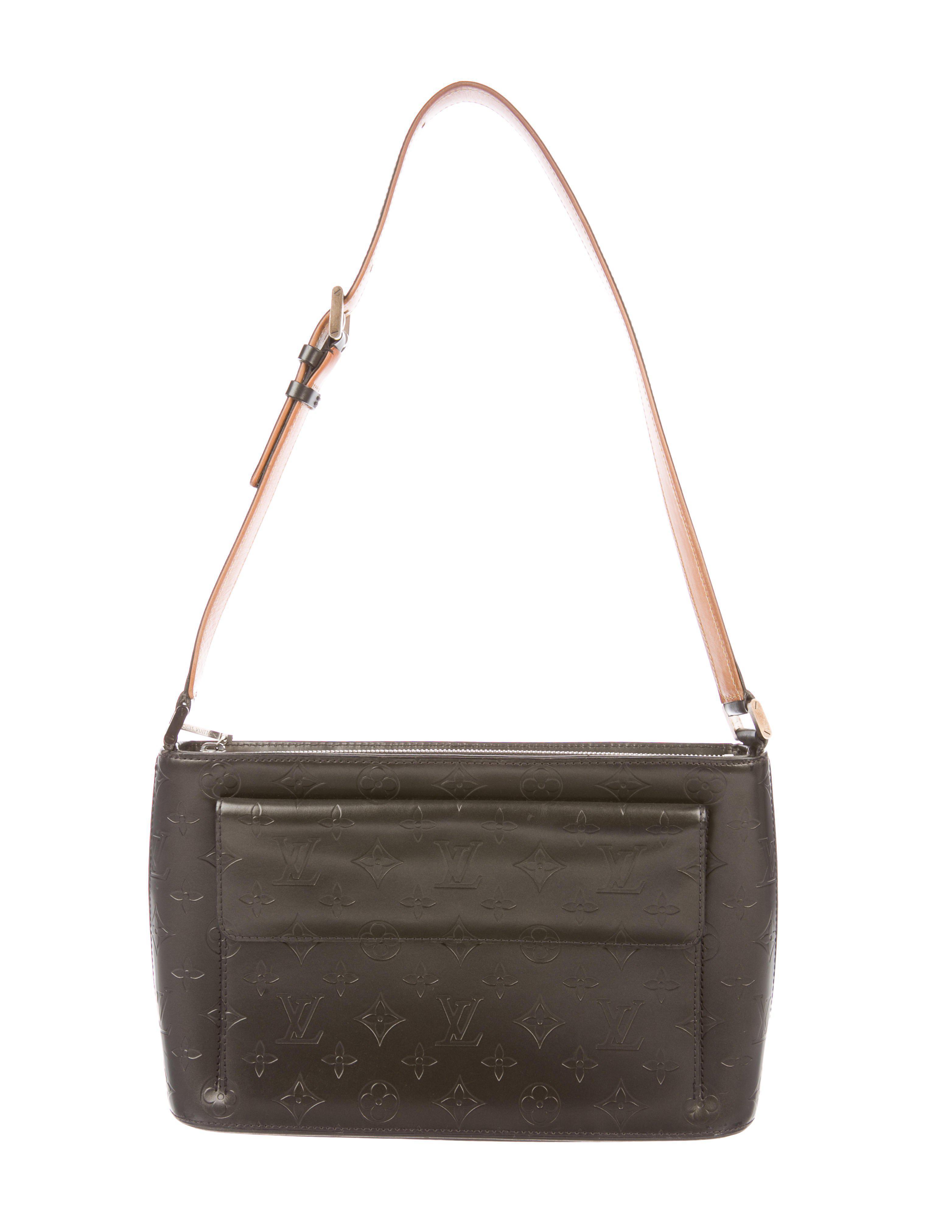 Lyst - Louis Vuitton Monogram Mat Allston Bag in Metallic 28ebc9f82e16d