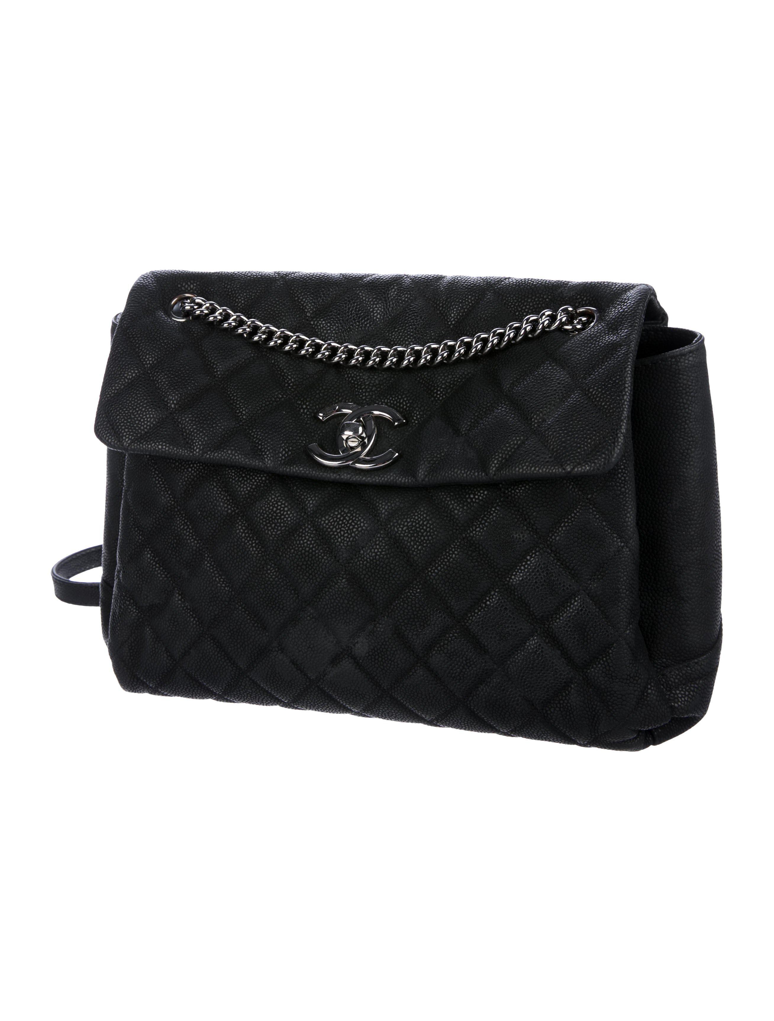 46692c607b88c9 Chanel - Metallic Lady Pearly Flap Bag Black - Lyst. View Fullscreen