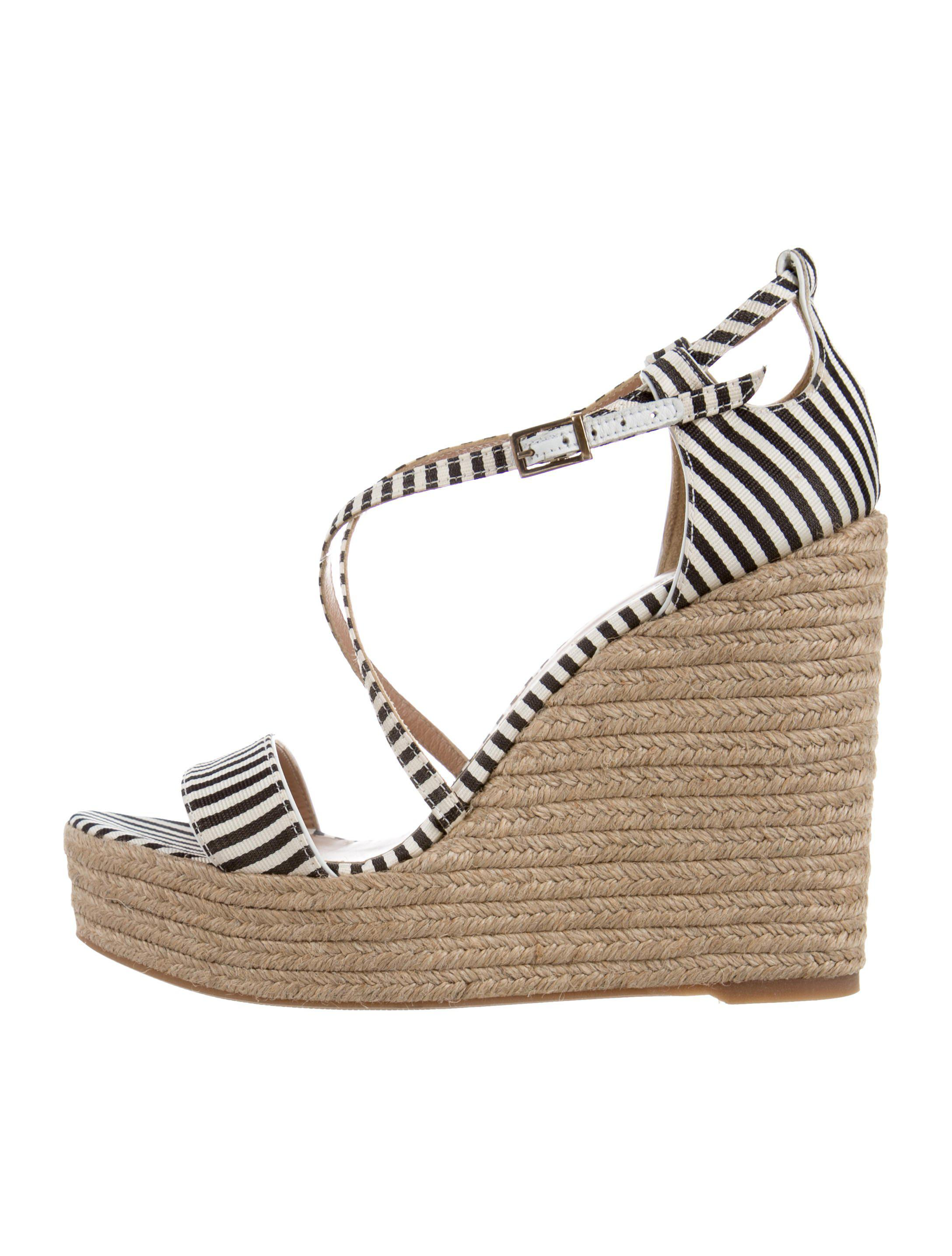 discount new Tabitha Simmons Striped Espadrille Wedges classic for sale cheap wholesale price cost online free shipping get to buy Jq6dOFMuL