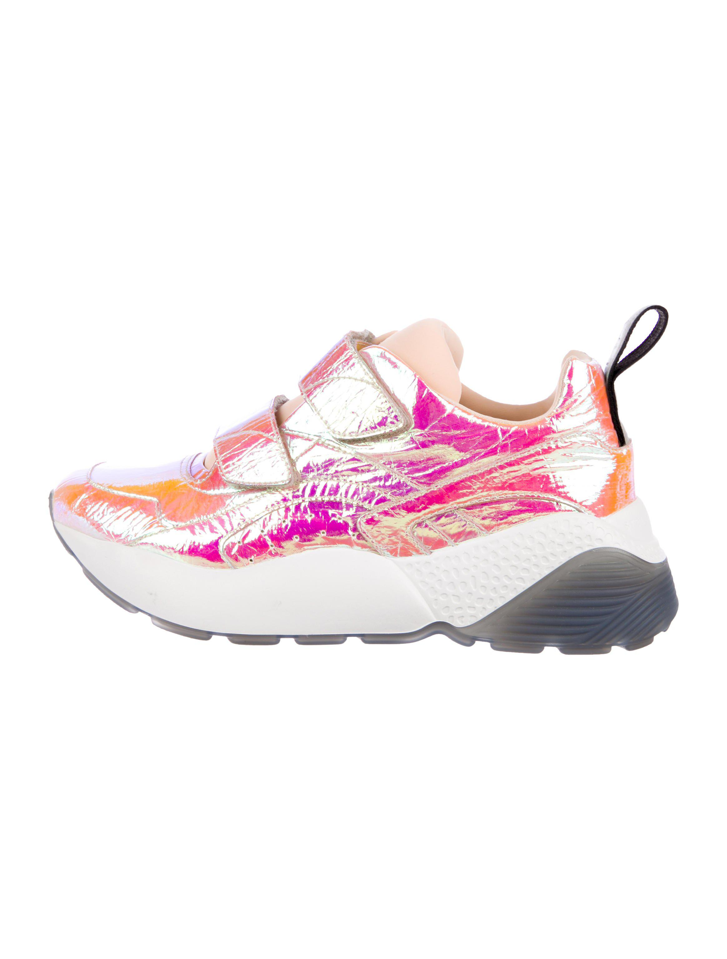 discounts sale online free shipping big sale Stella McCartney Iridescent Low-Top Sneakers discount cheap price cheap sale lowest price jeVQRu2