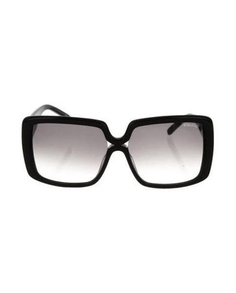 002d108f21 Lyst - Nina Ricci Oversize Square Sunglasses in Black
