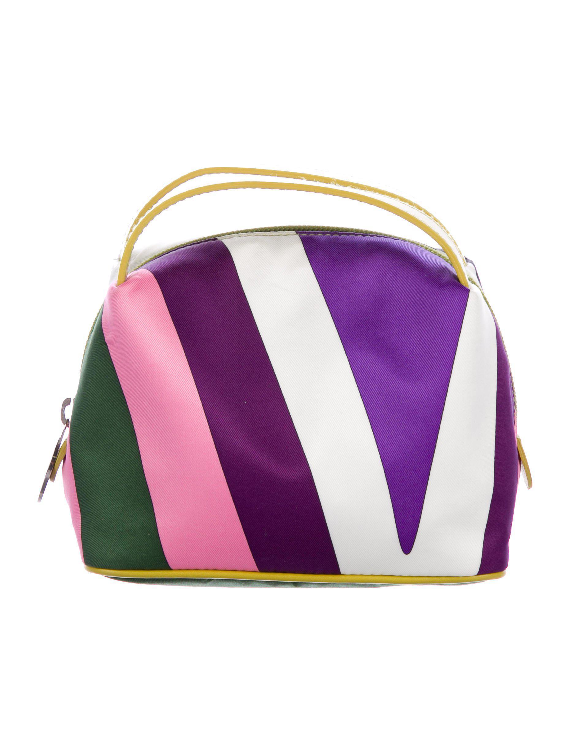 abstract print shoulder bag - Pink & Purple Emilio Pucci 35yg0