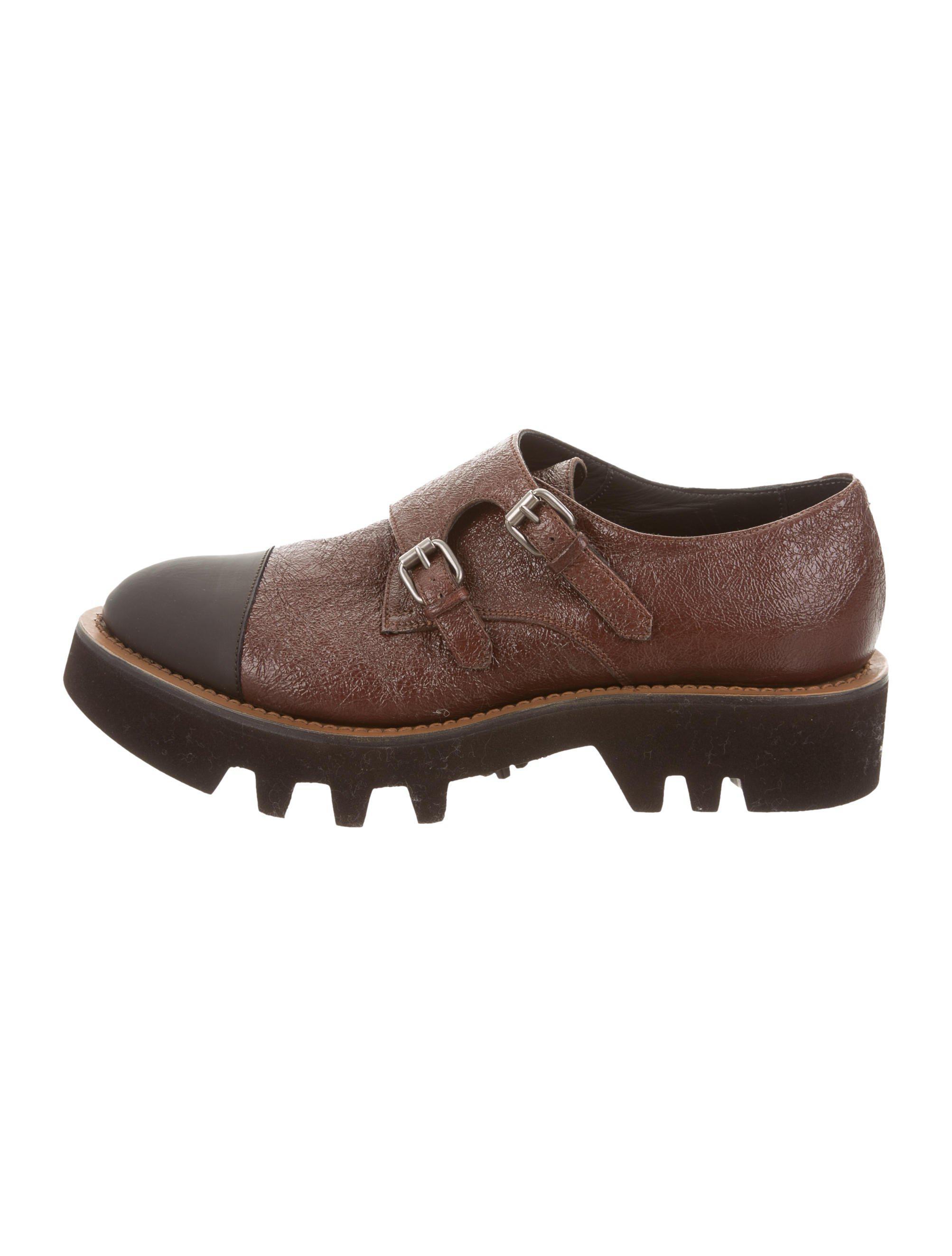 cheap price original Brunello Cucinelli Leather Flatform Loafers w/ Tags cheap sale enjoy for sale cheap authentic 2QDVr9dcU