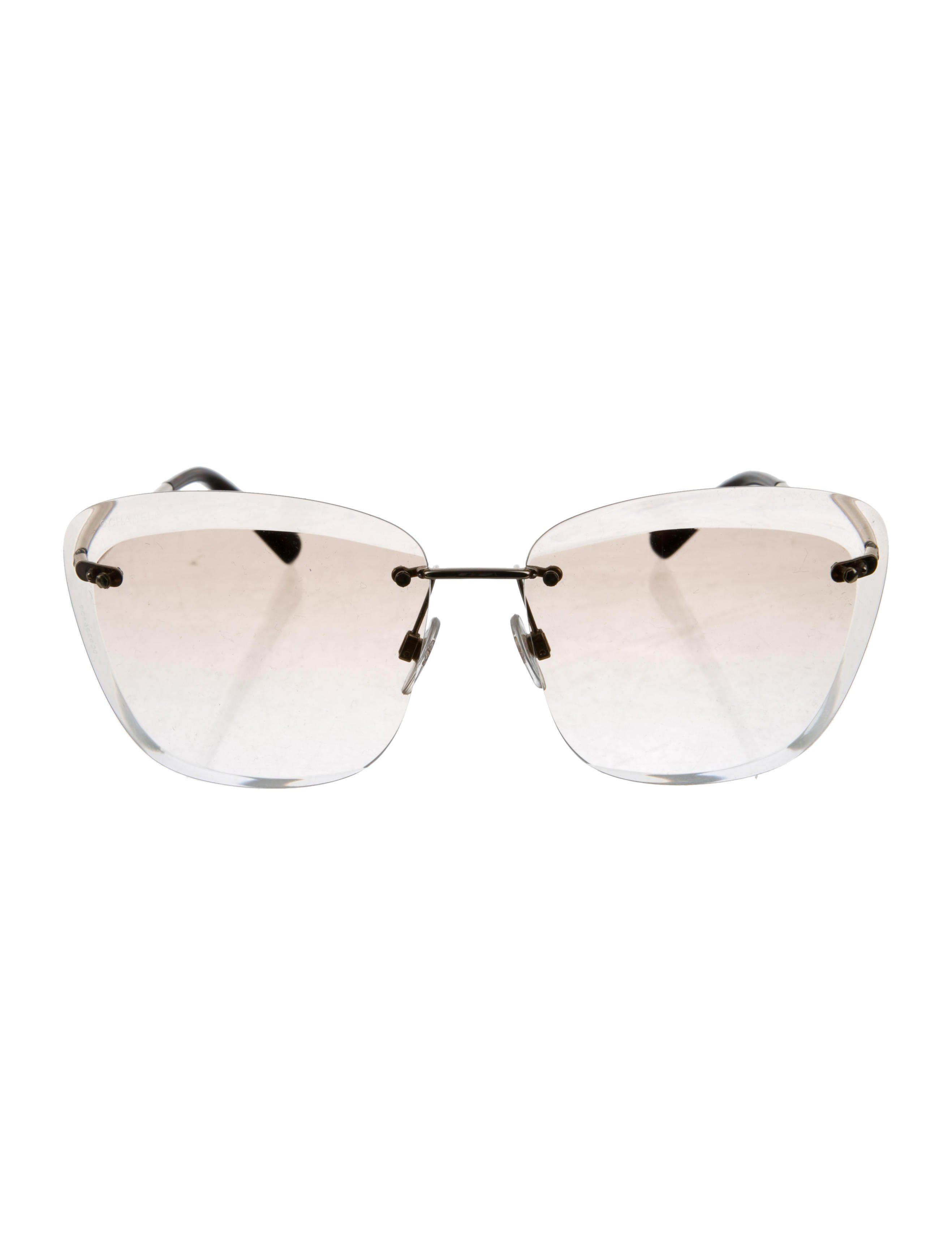 Lyst - Chanel 2018 Butterfly Spring Sunglasses Gold in Metallic