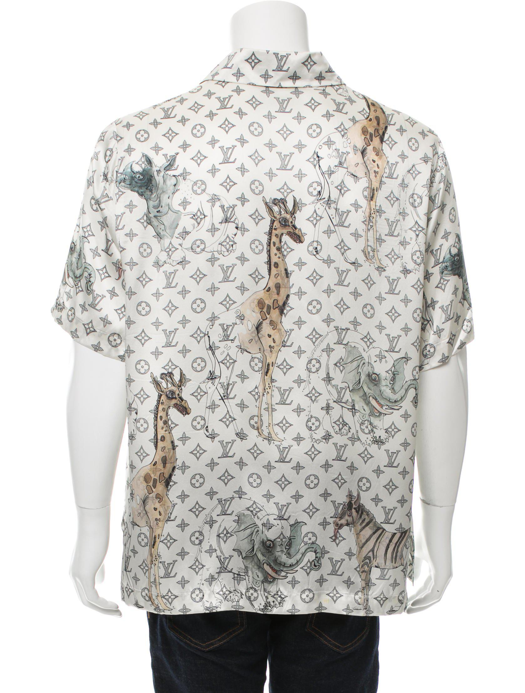 48da90d4753a Louis Vuitton Polo Shirt Giraffe