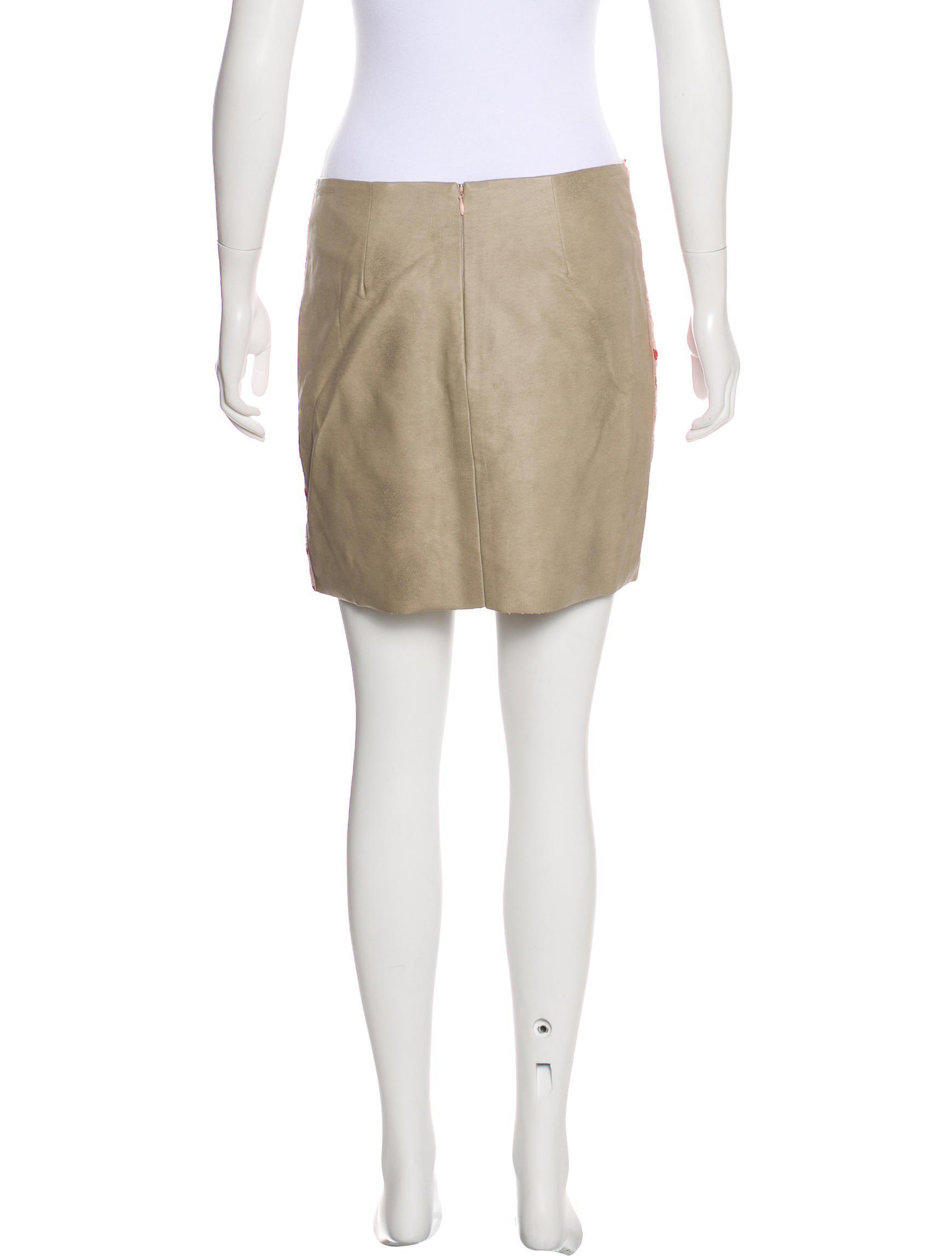 fcf6fbeb28 Sachin & Babi - Red Sequin Mini Skirt - Lyst. View fullscreen