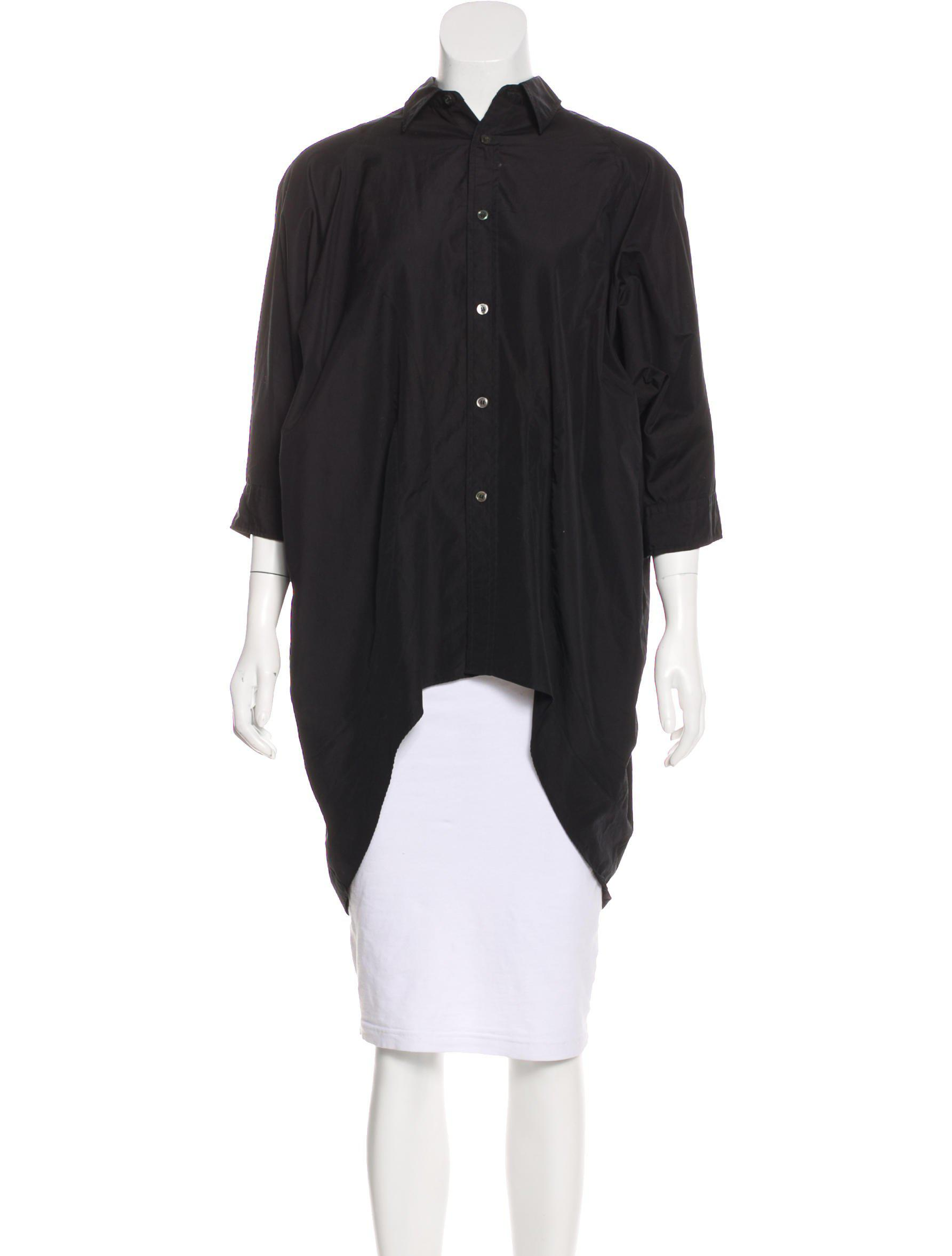 Clearance Fashion Style Cheap Sale How Much Junya Watanabe Oversize Button-Up Top Discount Extremely Cheap Affordable Sale Release Dates dXgtF