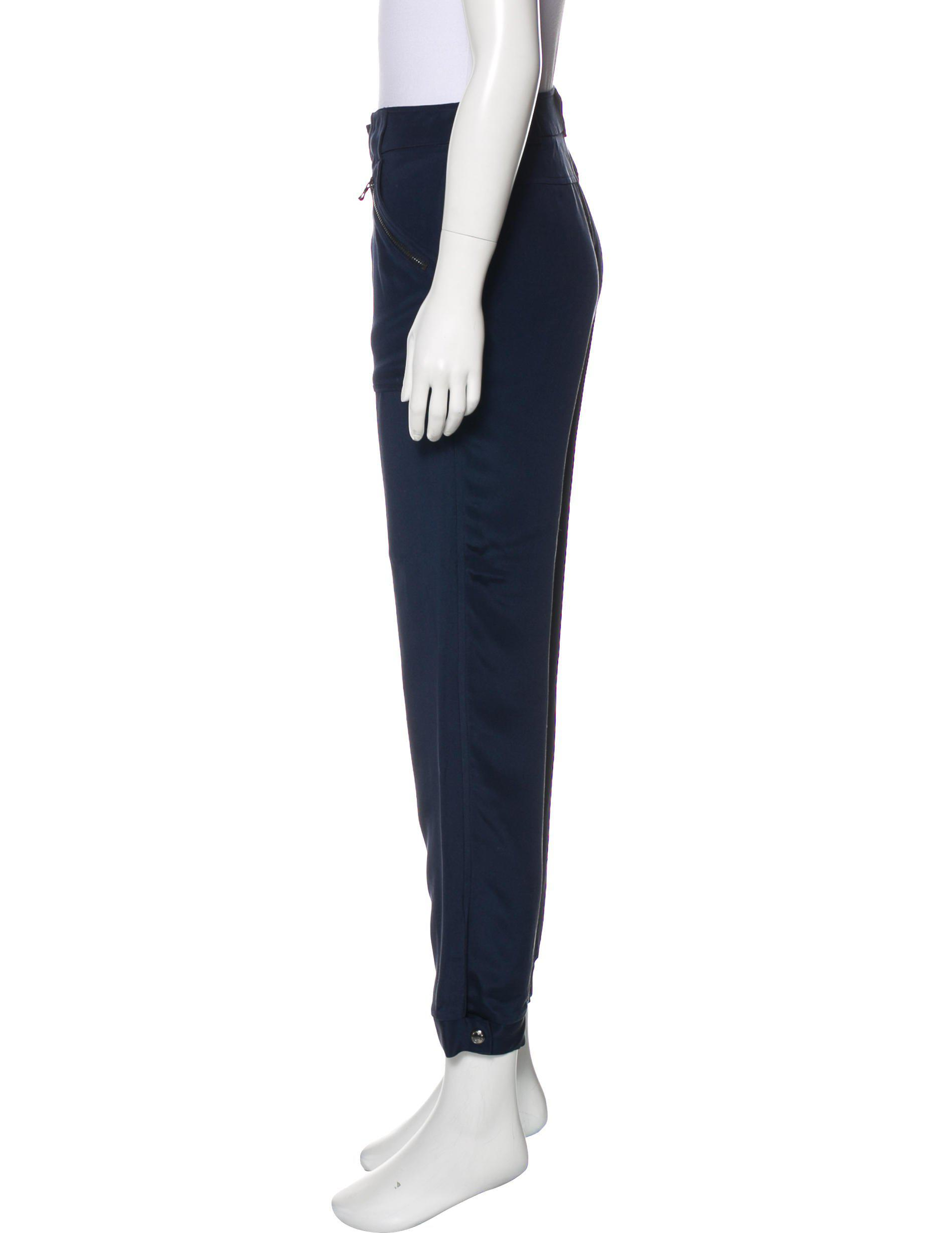Discount Low Price Discount 2018 New Magaschoni Mid-Rise Silk Cargo Pants Prices Cheap Price Cheap Real Finishline 51kHYqzrnE