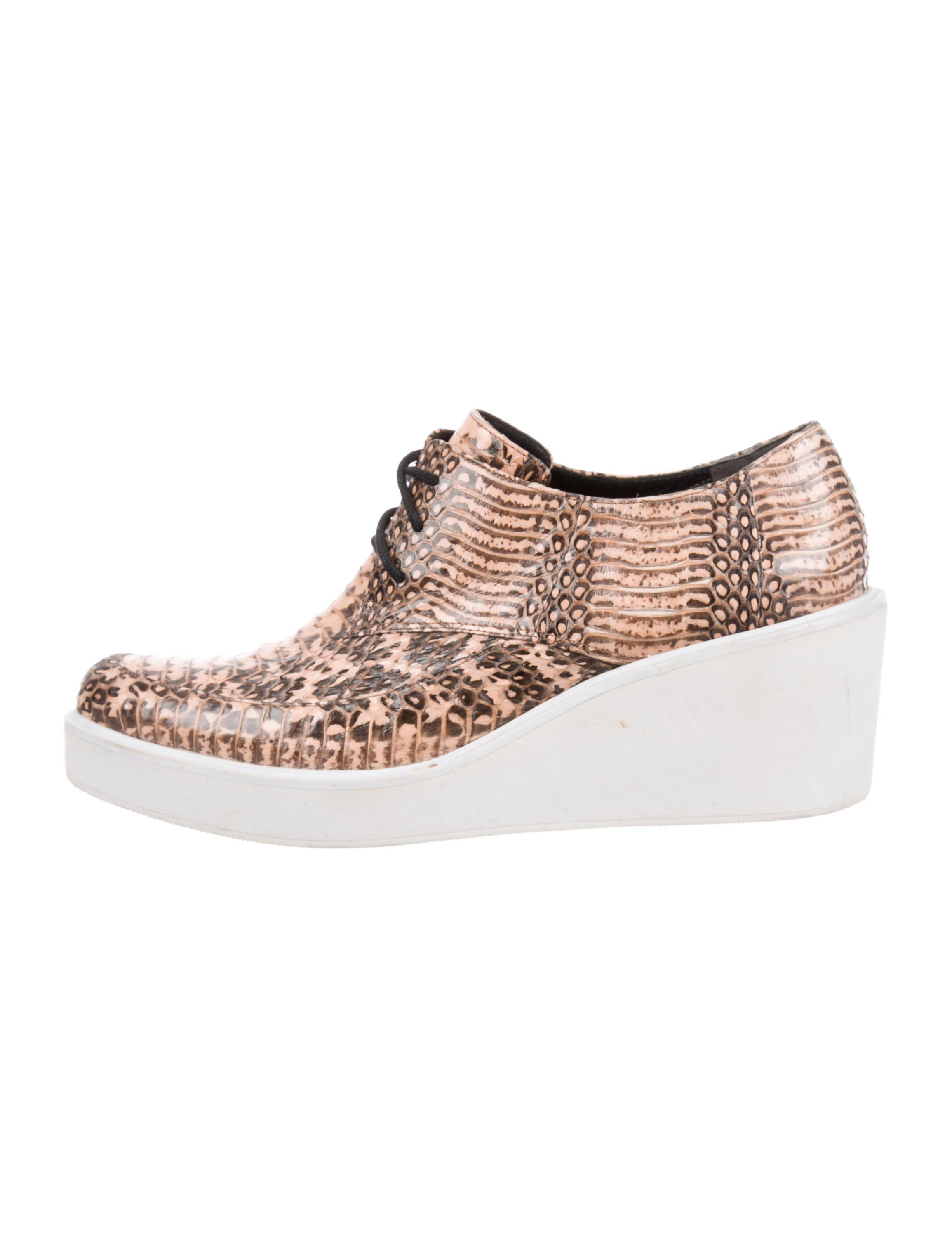 outlet enjoy 2015 new cheap price 3.1 Phillip Lim Snakeskin Wedge Sneakers buy cheap many kinds of 100% guaranteed for sale buy cheap genuine kXX7mZQ2X