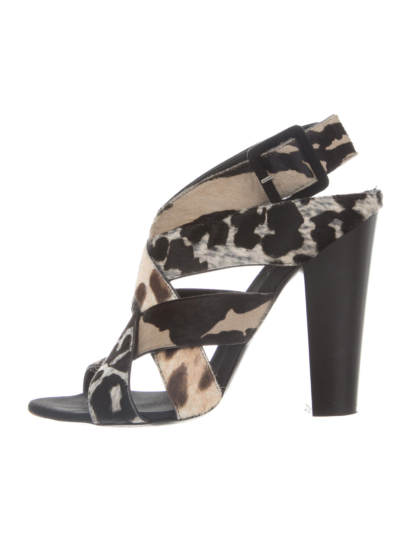 Giuseppe Zanotti Multistrap Ponyhair Sandals w/ Tags for sale under $60 genuine cheap online sale for cheap TNBmFVv0Aa